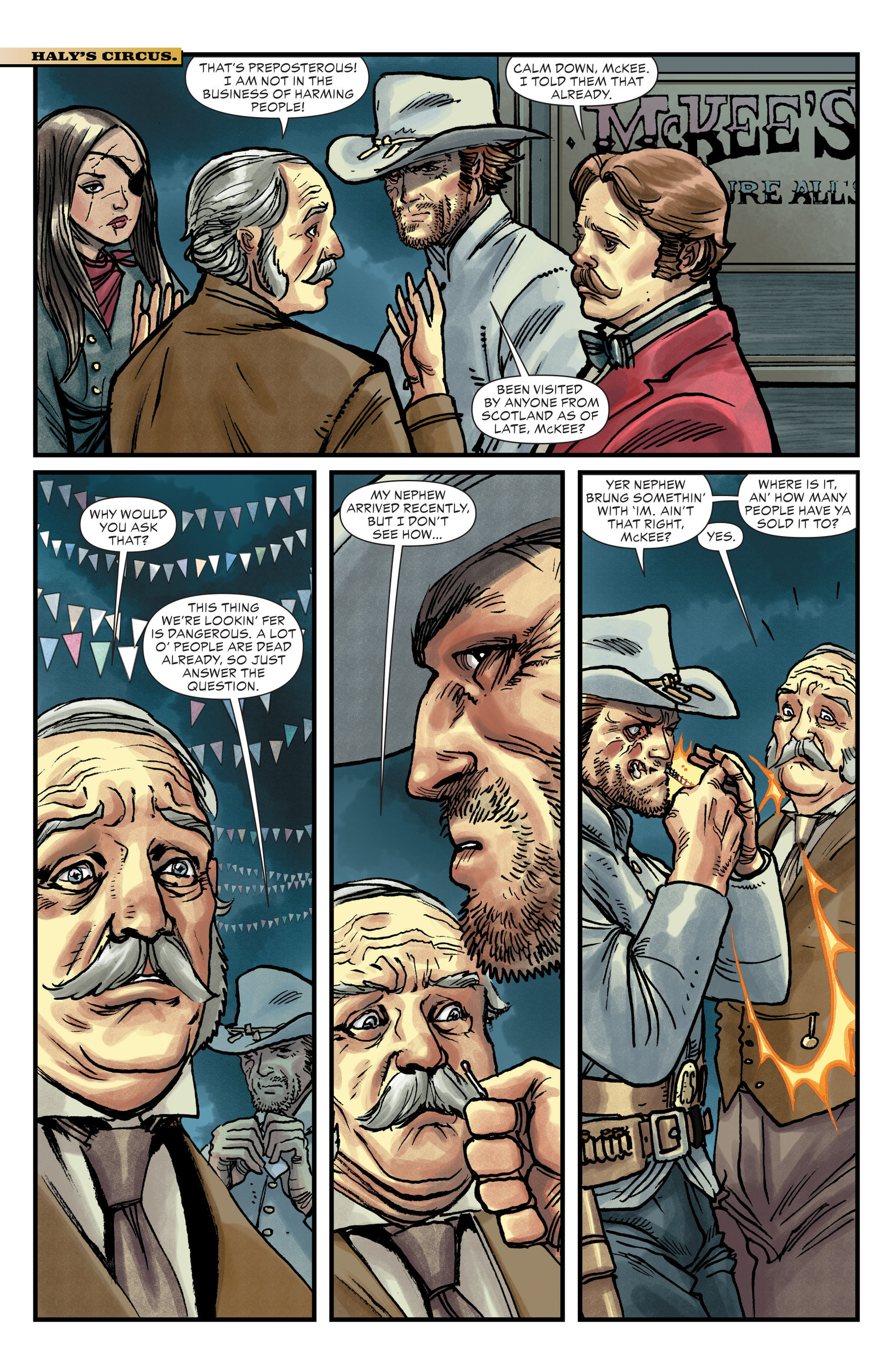 Read online All-Star Western (2011) comic -  Issue #14 - 6