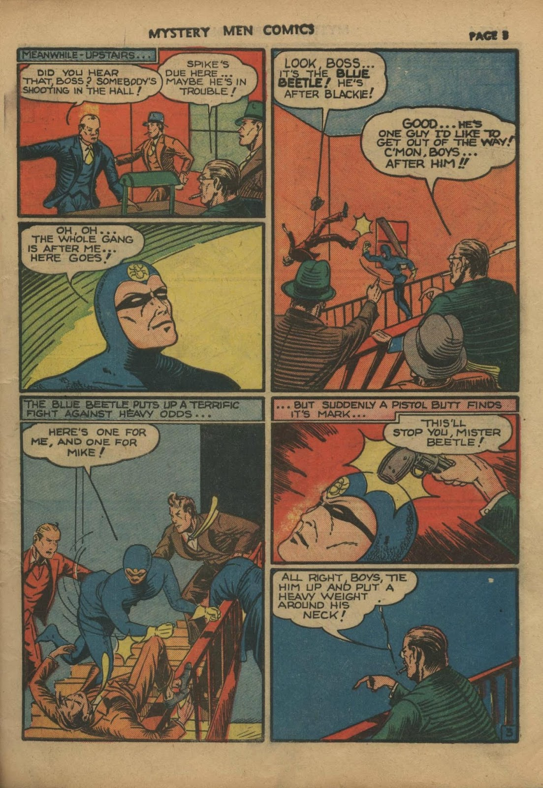 Mystery Men Comics issue 10 - Page 5
