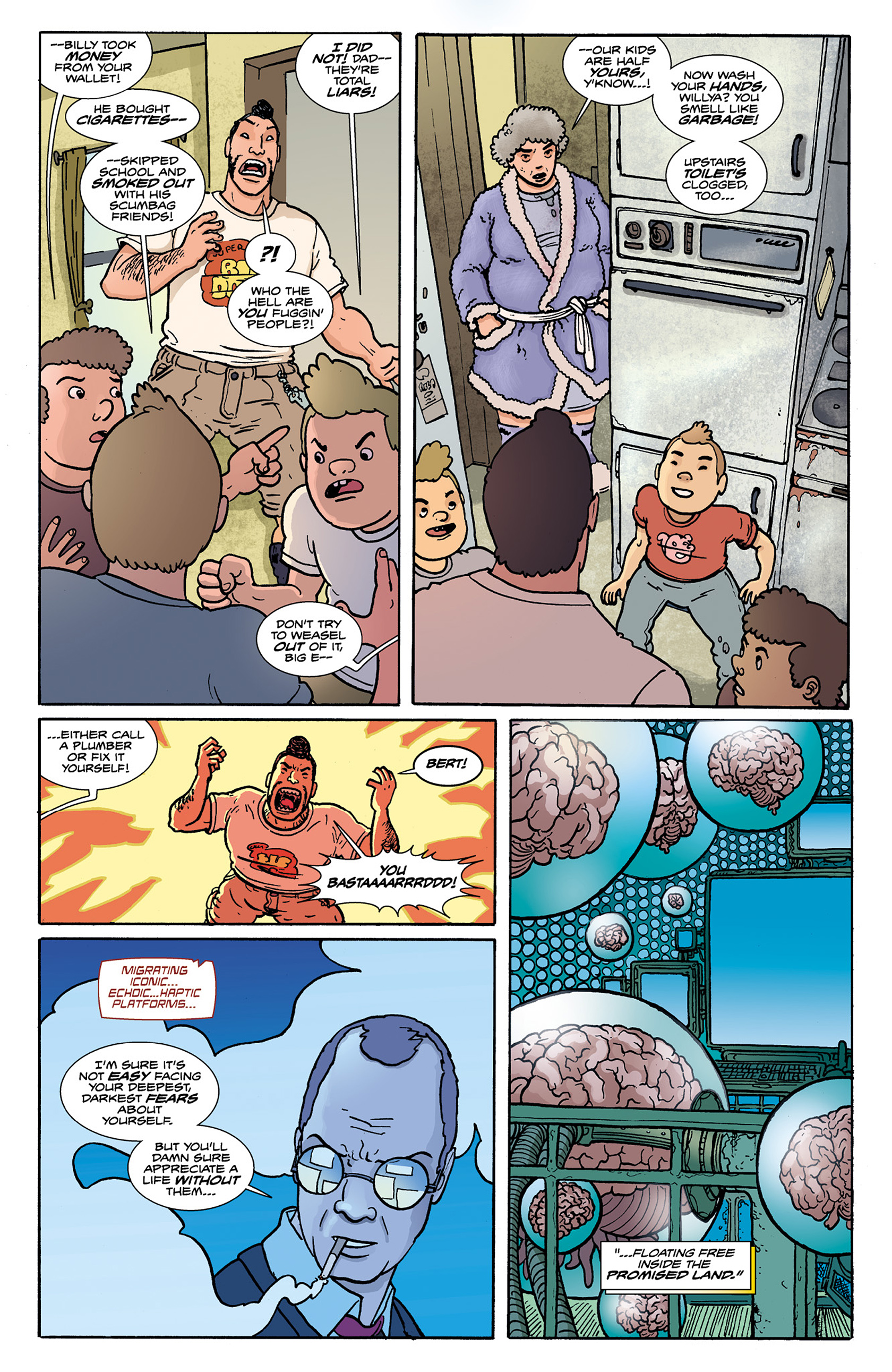 Read online Catalyst Comix comic -  Issue #8 - 16