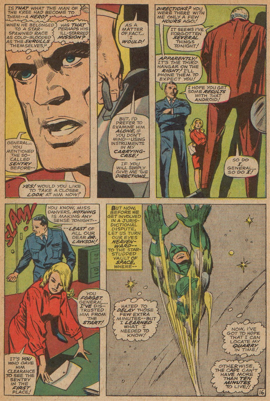 Captain Marvel (1968) Issue #3 #3 - English 17