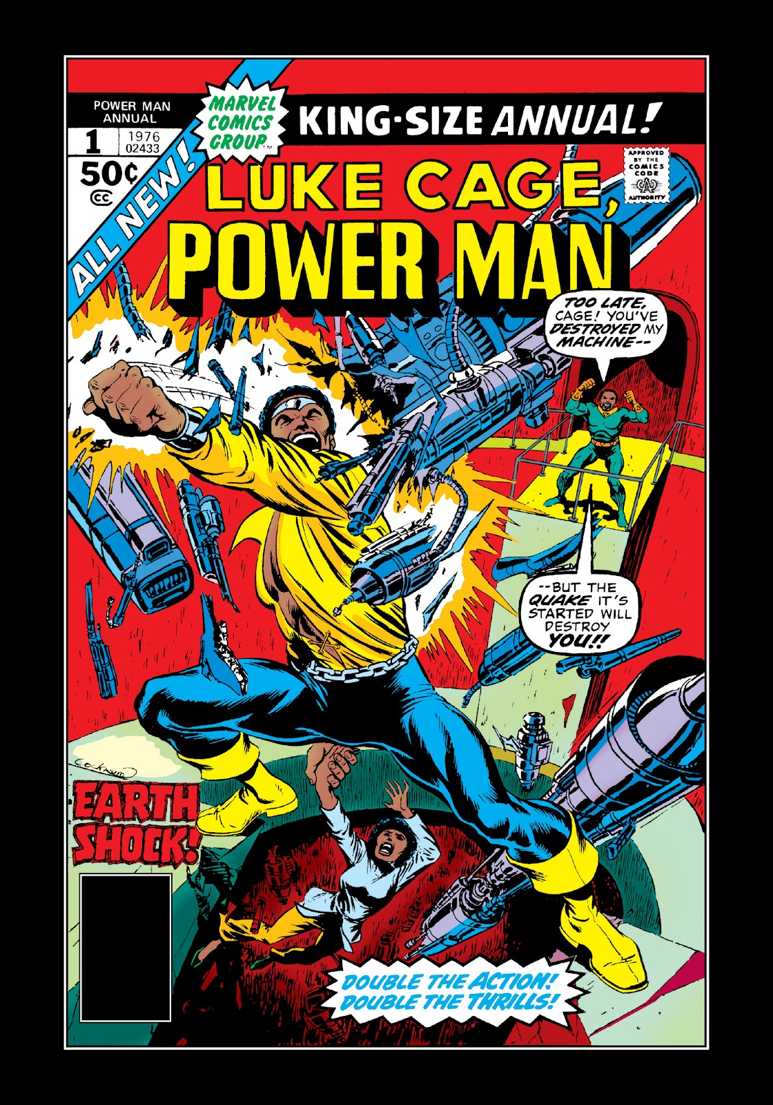 Read online Marvel Masterworks: Luke Cage, Power Man comic -  Issue # TPB 3 (Part 1) - 81