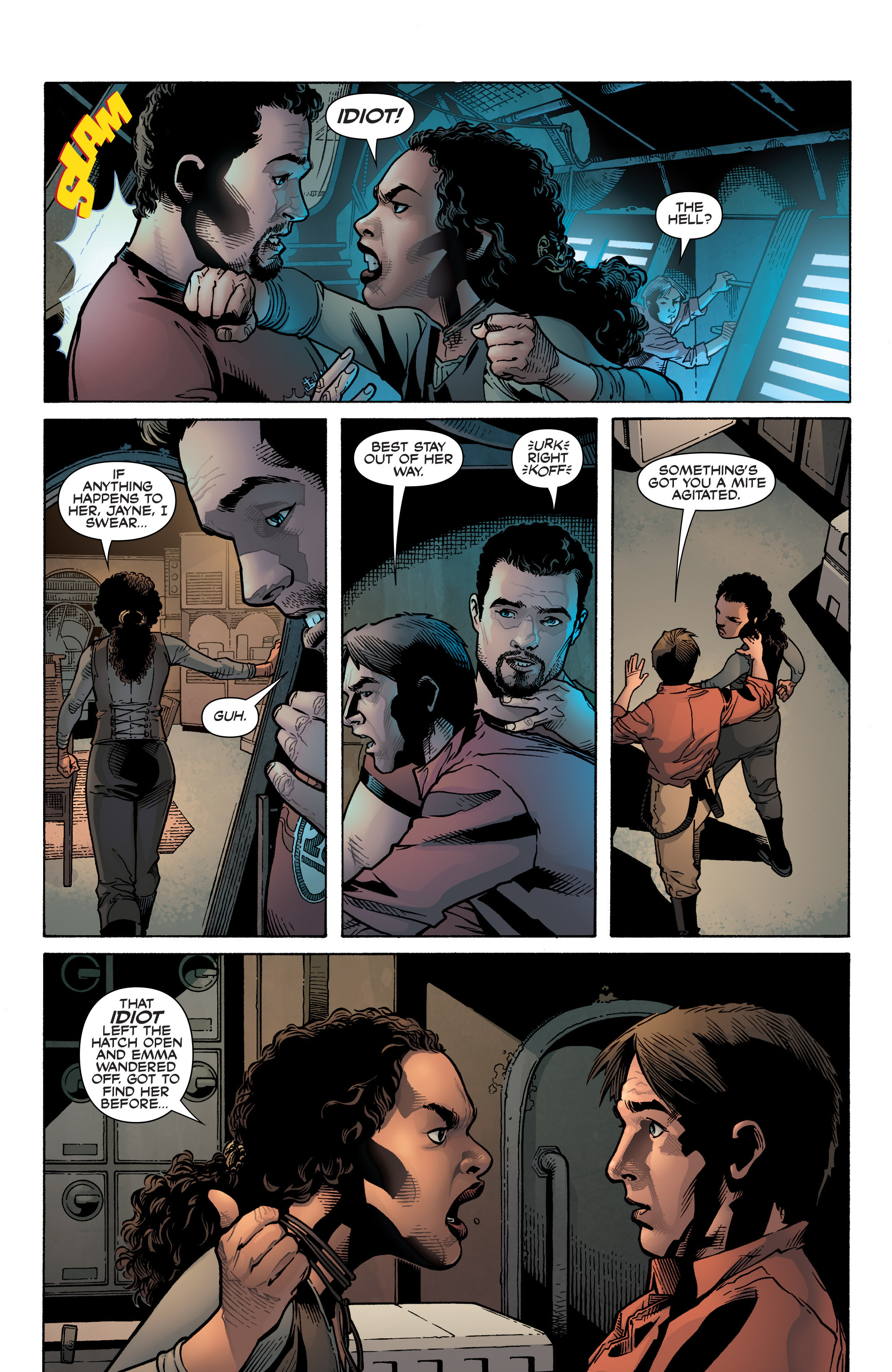Read online Serenity: Firefly Class 03-K64 – No Power in the 'Verse comic -  Issue #1 - 20