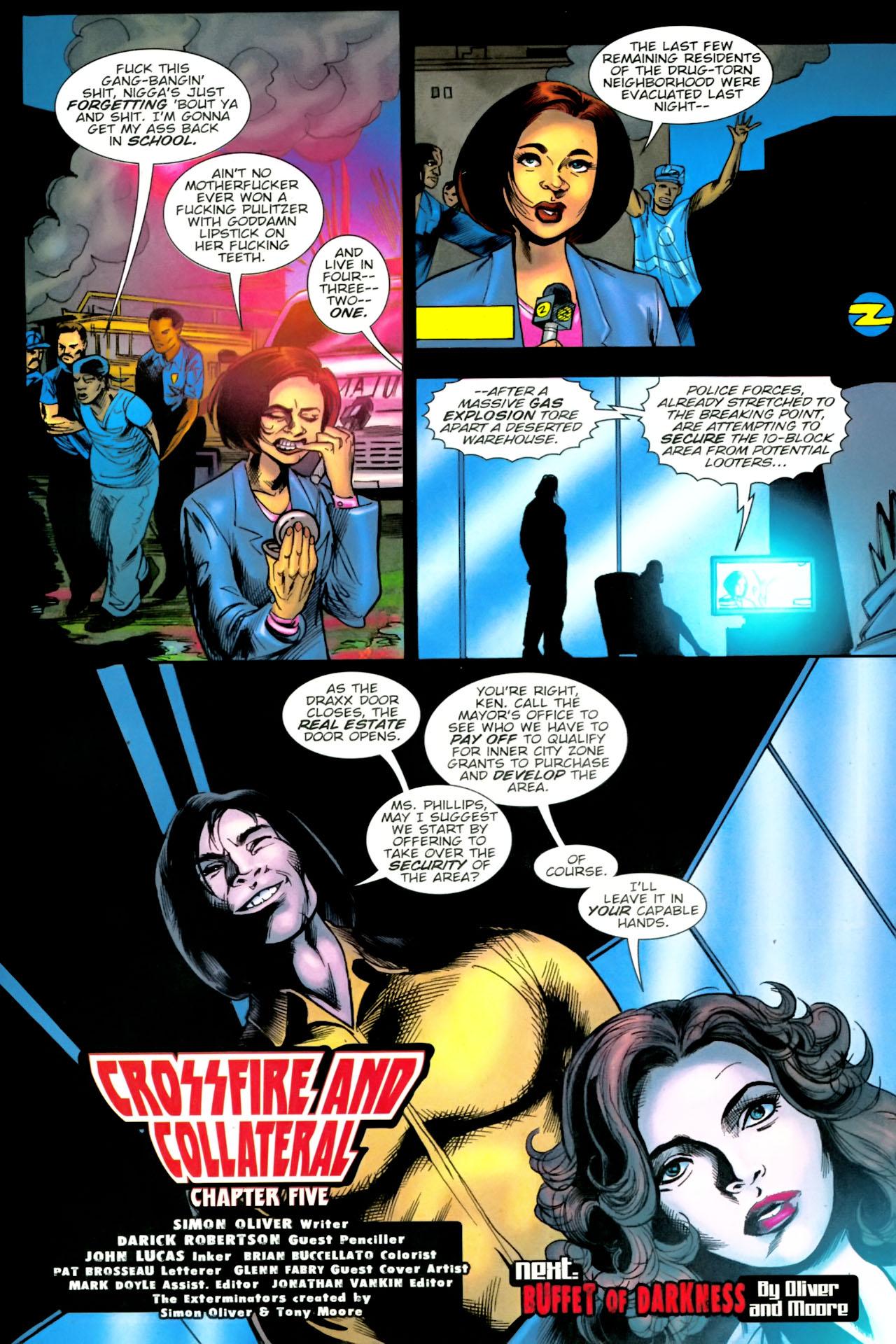 Read online The Exterminators comic -  Issue #23 - 23