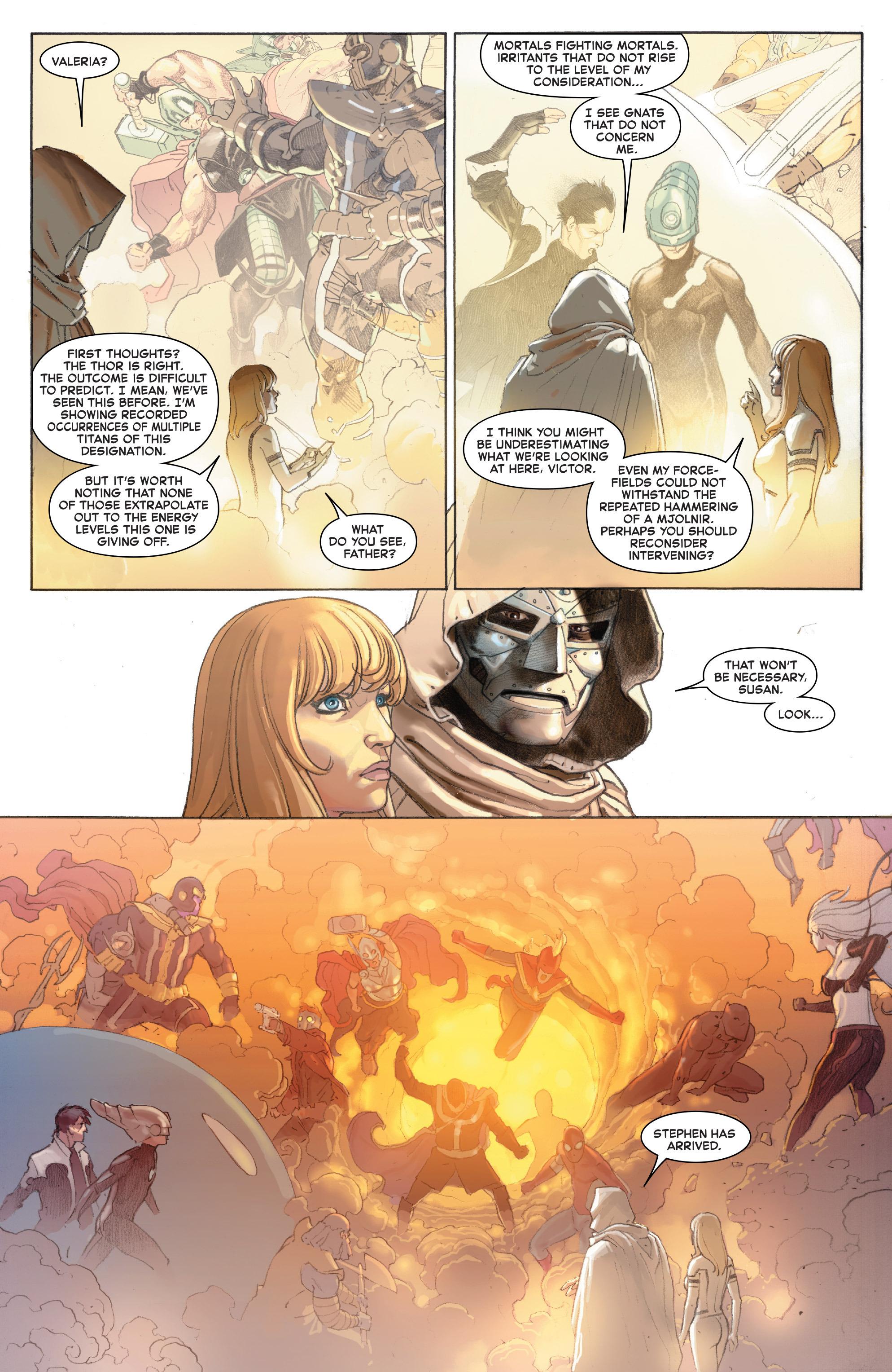 Read online Secret Wars comic -  Issue #4 - 22