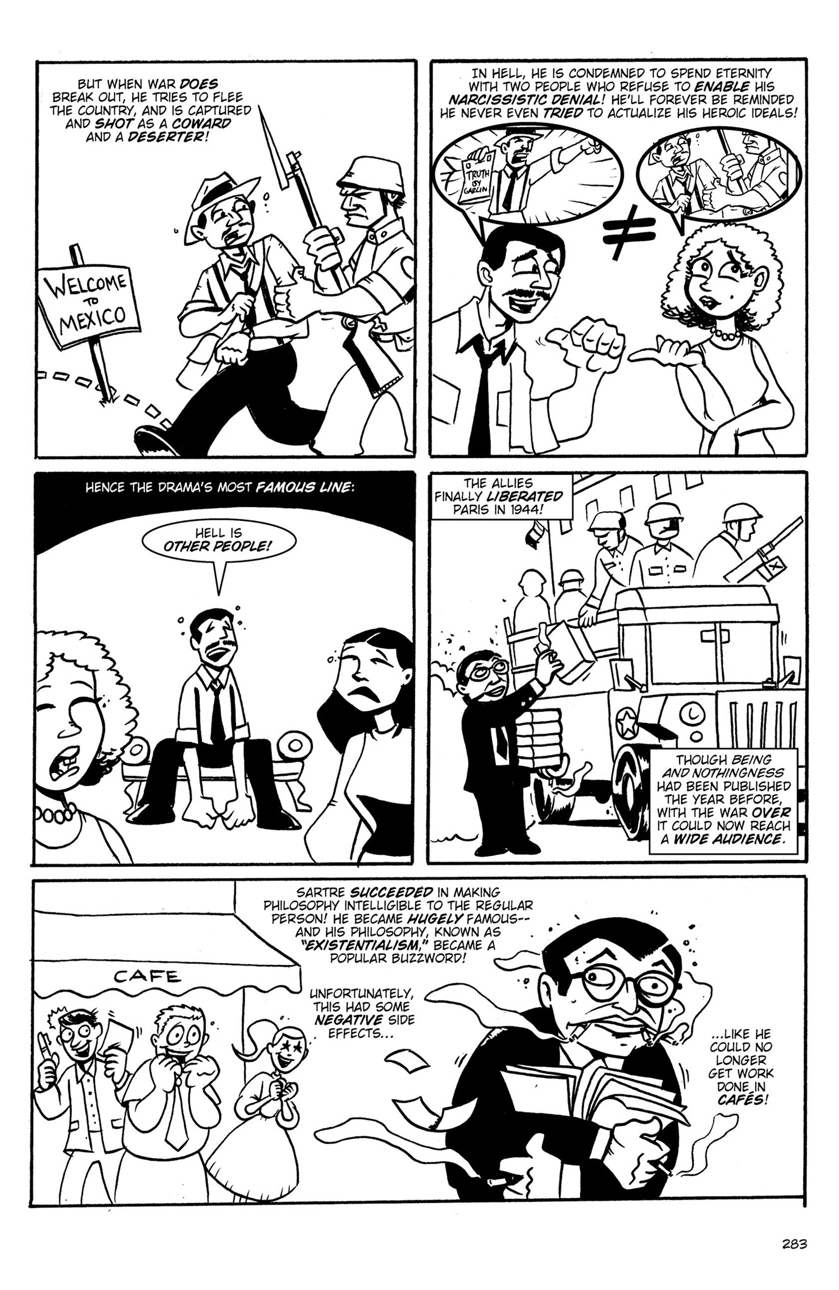 Read online Action Philosophers! comic -  Issue #Action Philosophers! TPB (Part 2) - 111