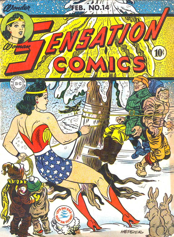 Read online Sensation (Mystery) Comics comic -  Issue #14 - 1
