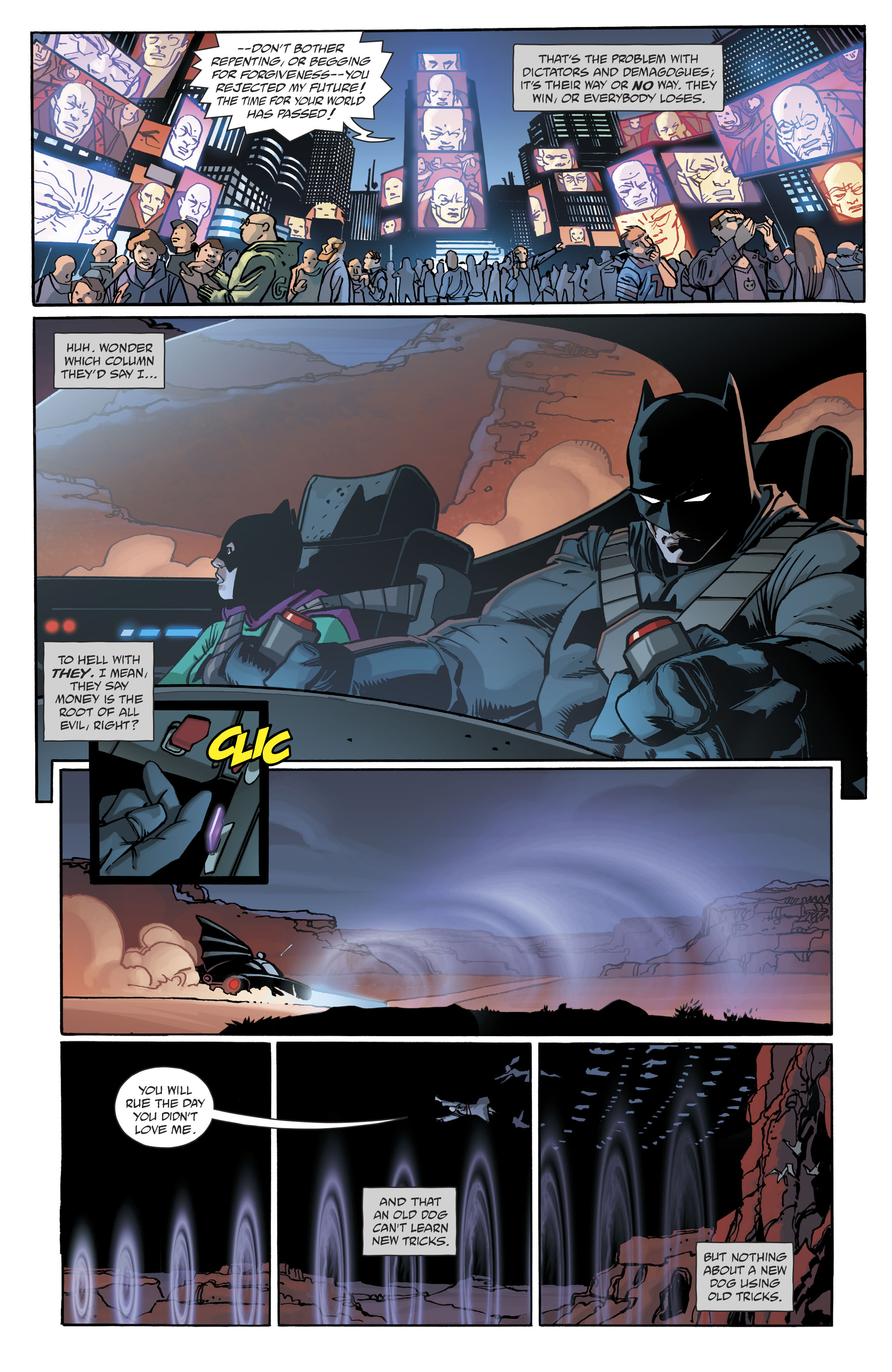 Read online Dark Knight III: The Master Race comic -  Issue #9 - 15