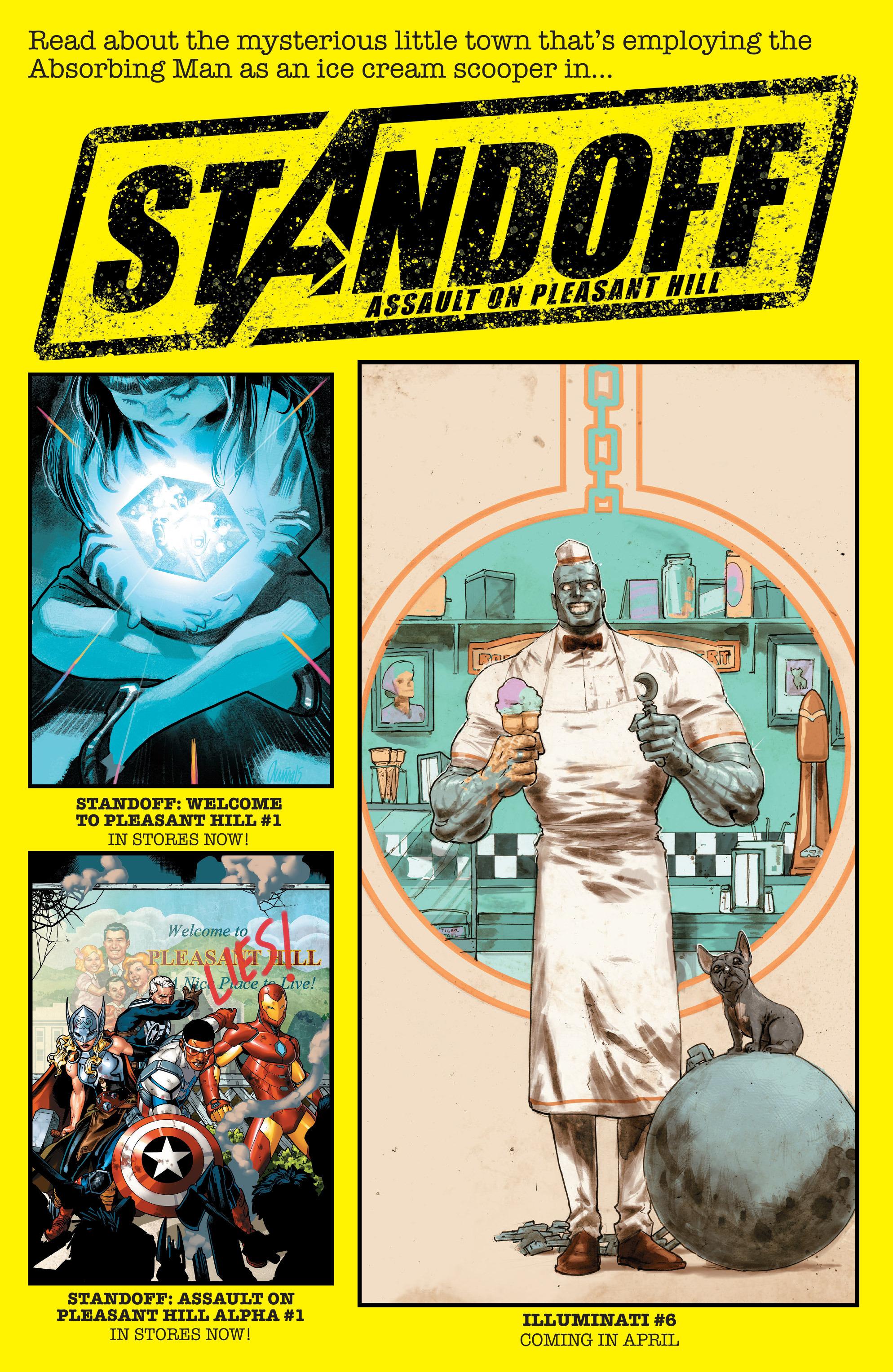 Read online Illuminati comic -  Issue #5 - 23