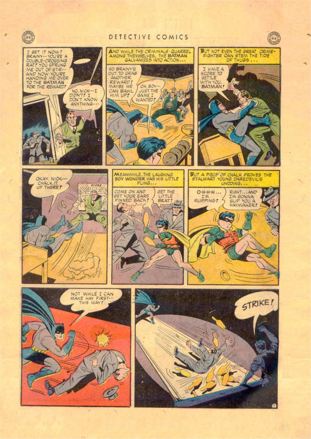 Read online Detective Comics (1937) comic -  Issue #92 - 9