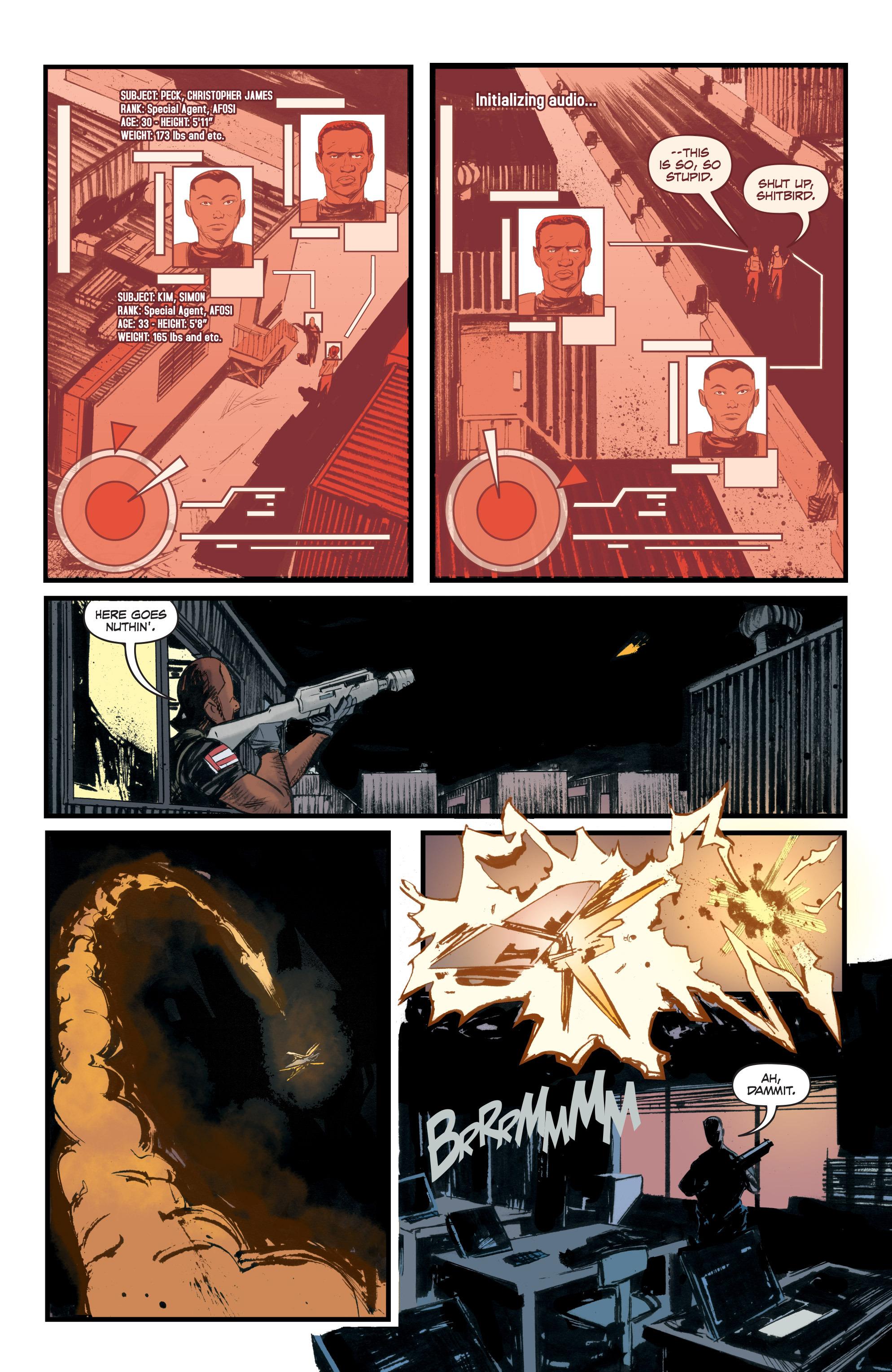Read online Redline comic -  Issue #3 - 19