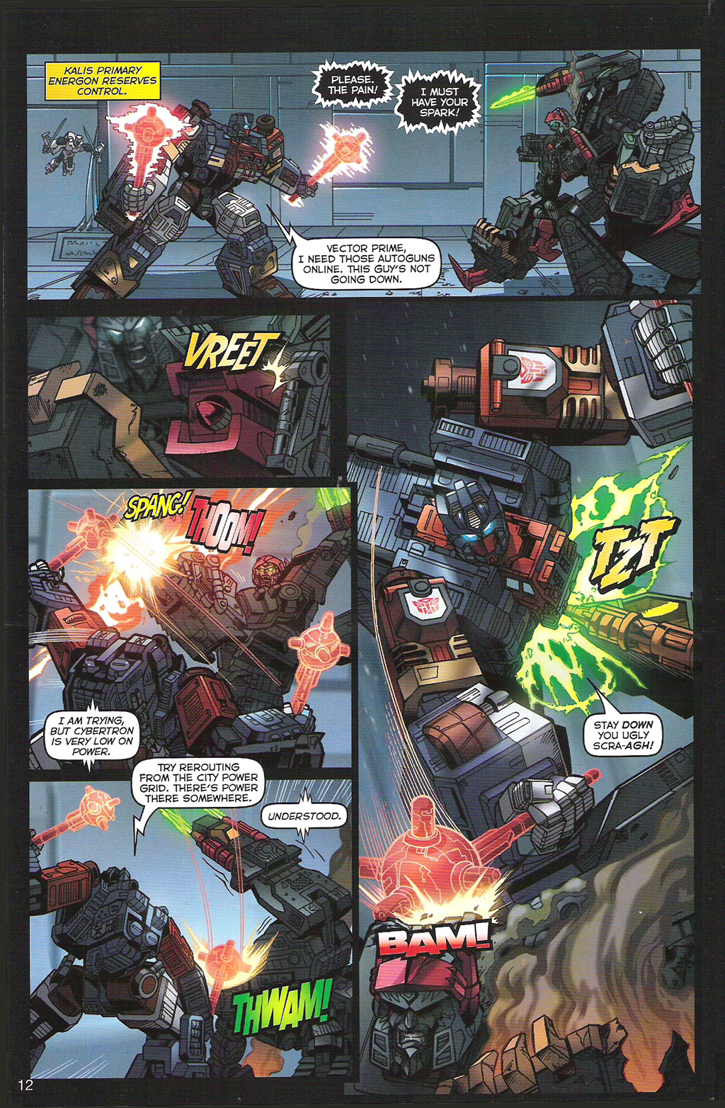 Read online Transformers: Collectors' Club comic -  Issue #5 - 12