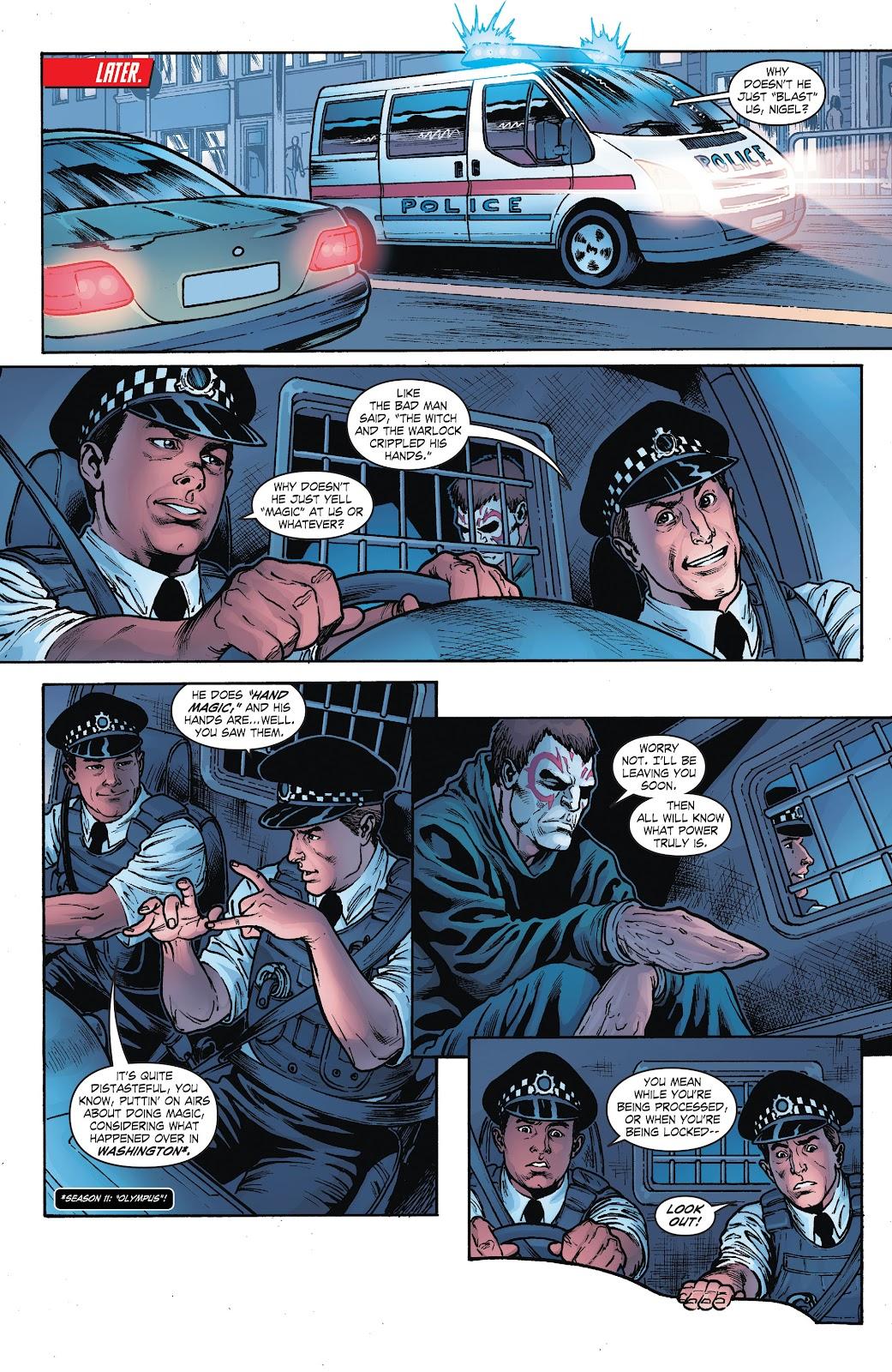 Read online Smallville Season 11 [II] comic -  Issue # TPB 8 - 17