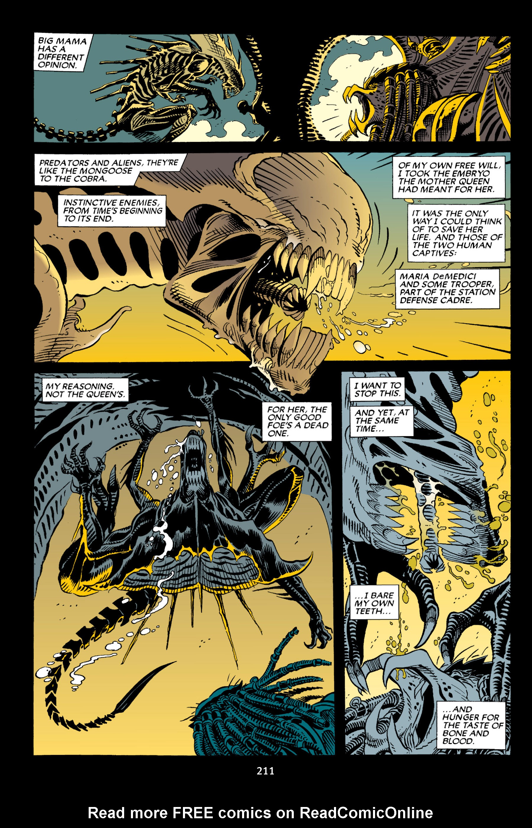Read online Aliens vs. Predator Omnibus comic -  Issue # _TPB 2 Part 2 - 98
