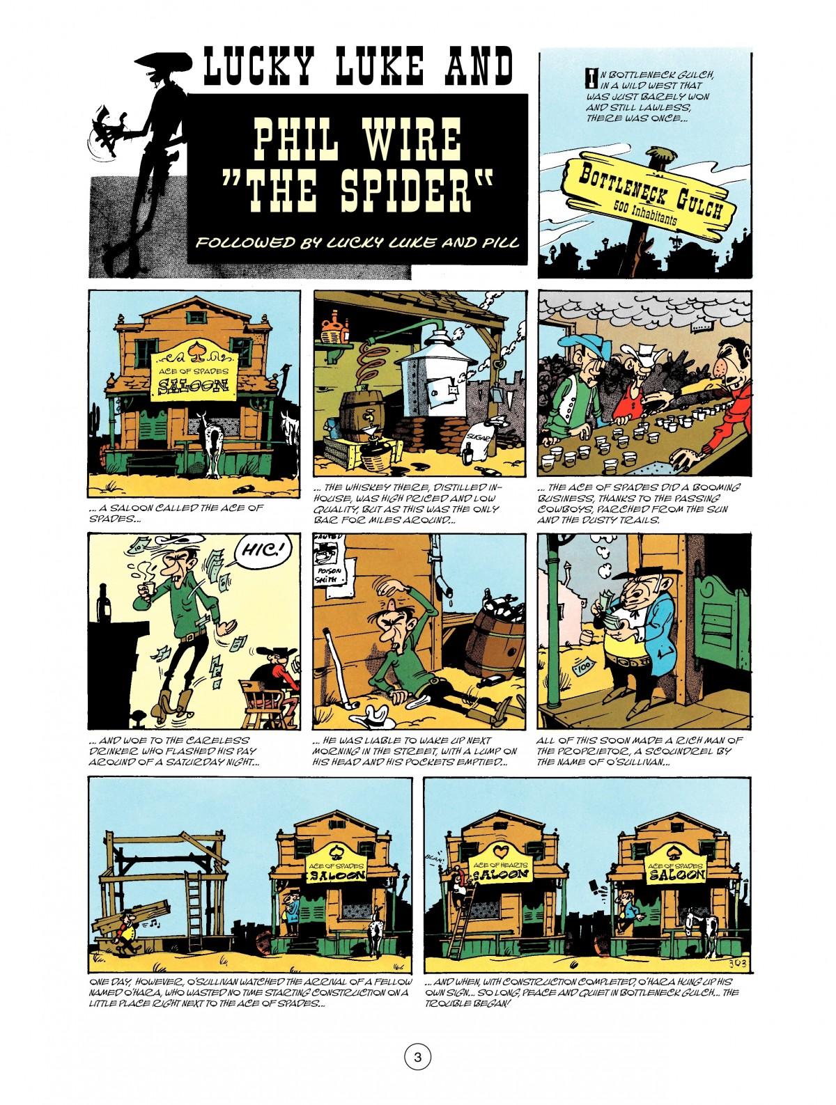 Read online A Lucky Luke Adventure comic -  Issue #40 - 3