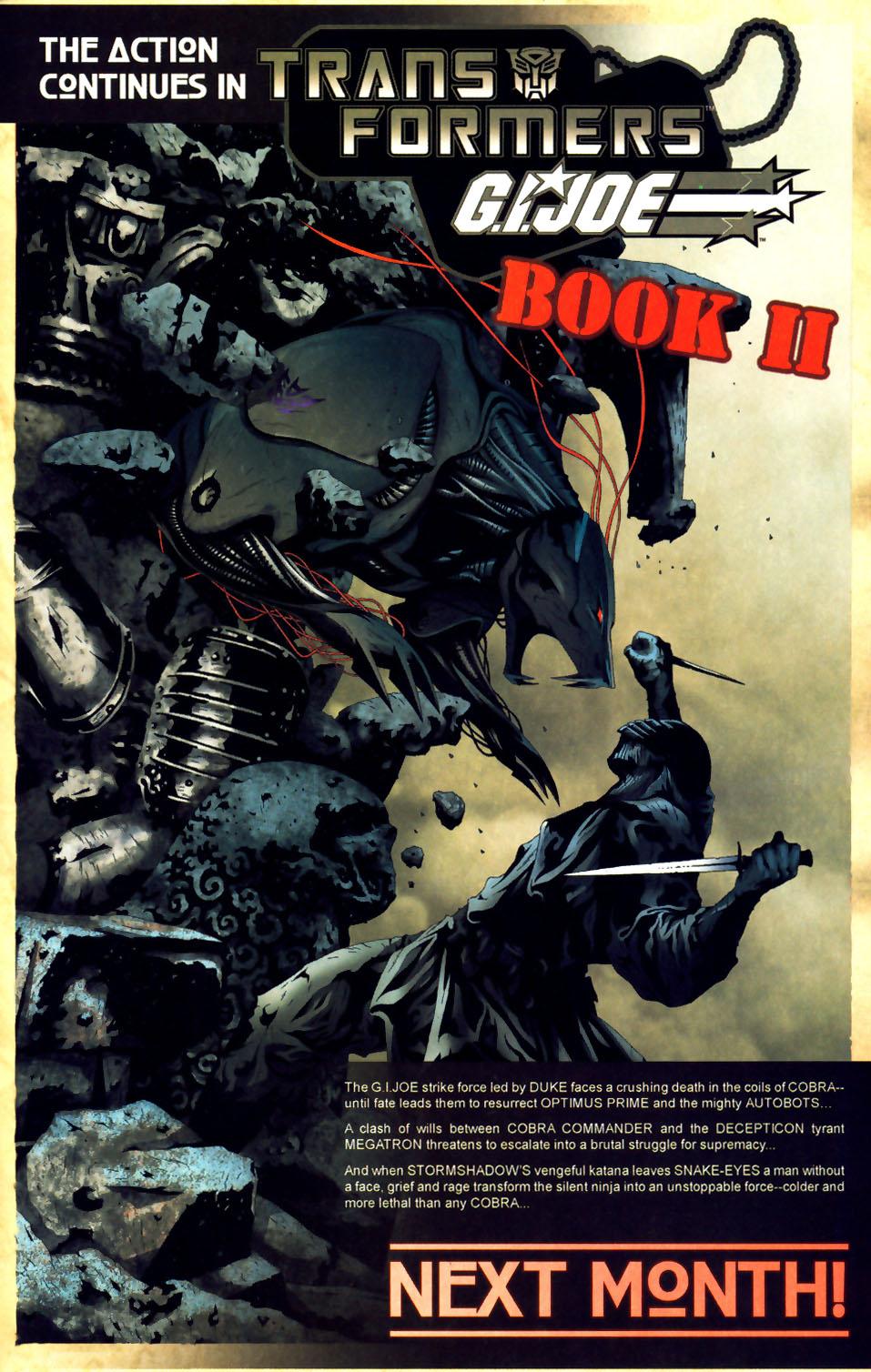 Read online Transformers/G.I. Joe comic -  Issue #1 - 21
