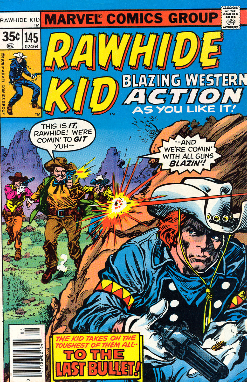 The Rawhide Kid (1955) issue 145 - Page 1