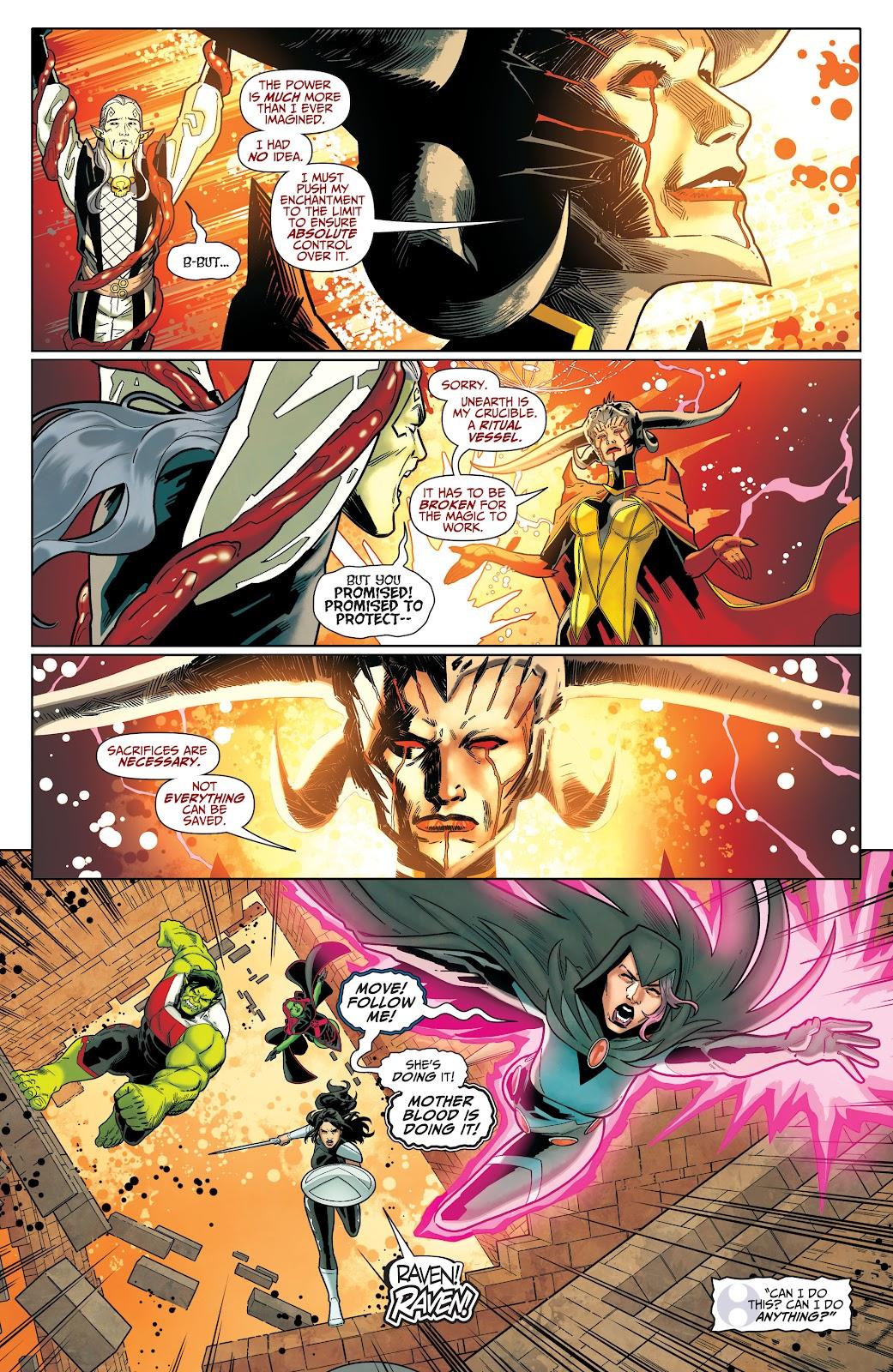 Read online Titans (2016) comic -  Issue #36 - 8