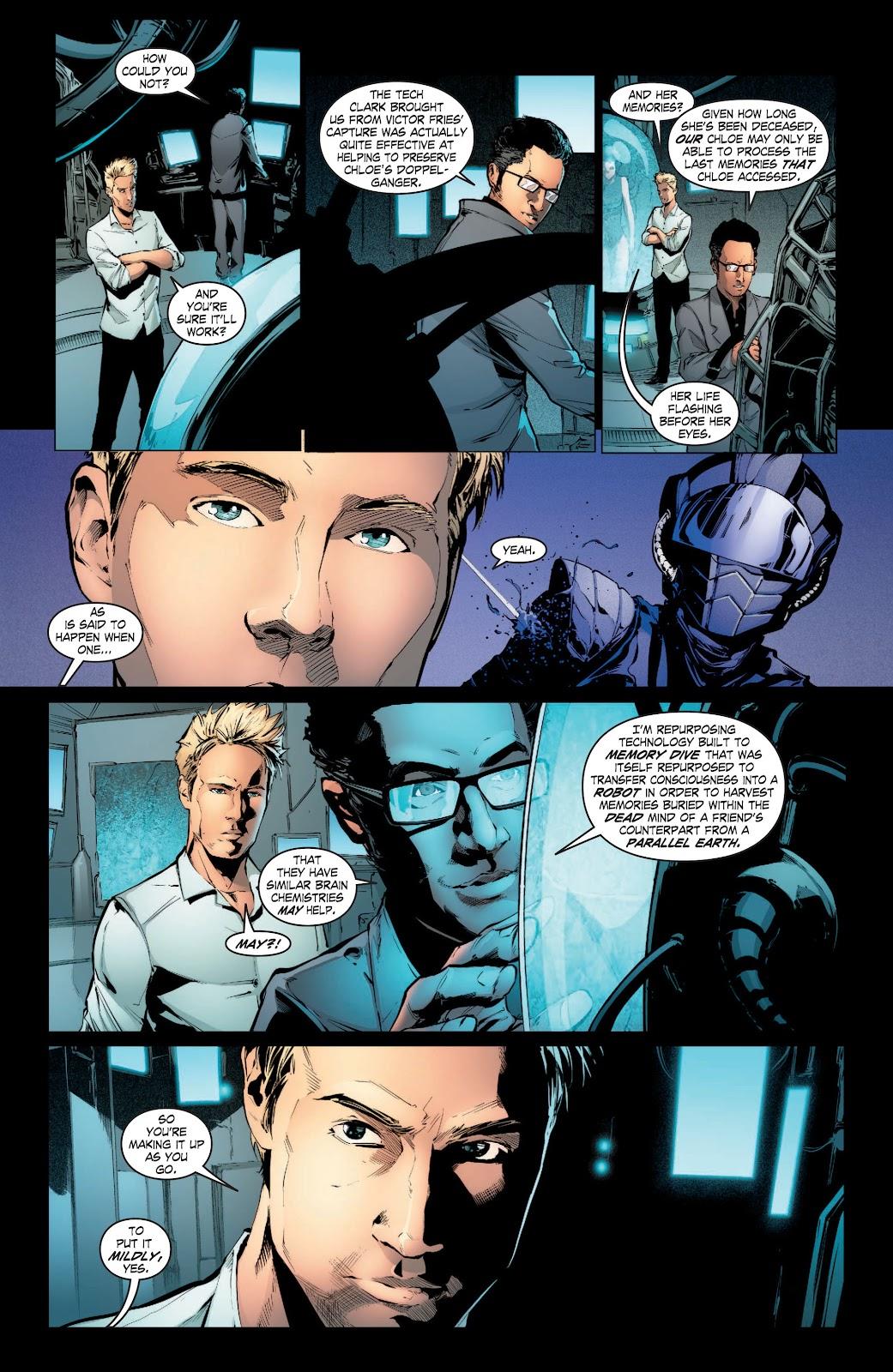 Read online Smallville Season 11 [II] comic -  Issue # TPB 3 - 63