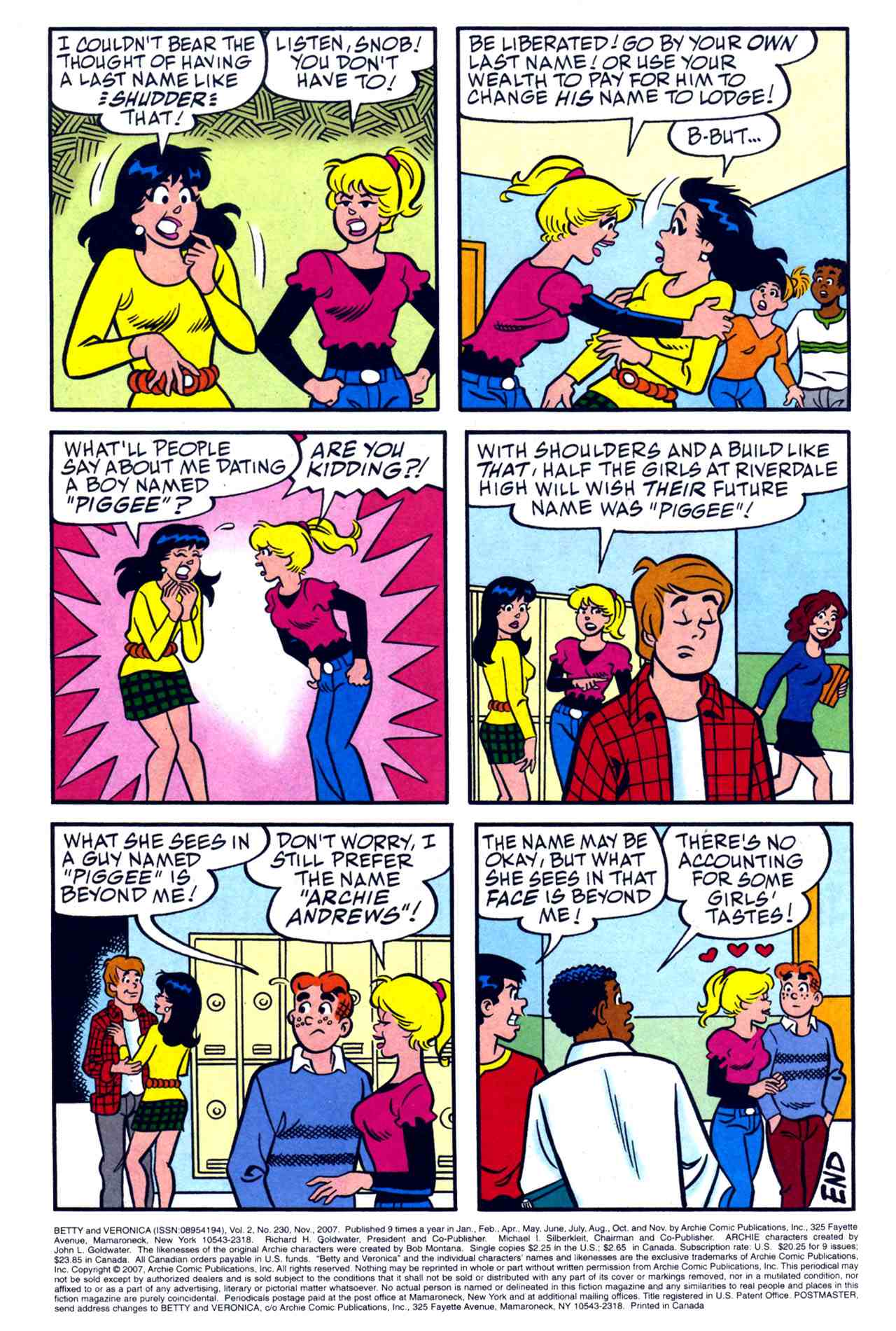 Read online Archie's Girls Betty and Veronica comic -  Issue #230 - 25