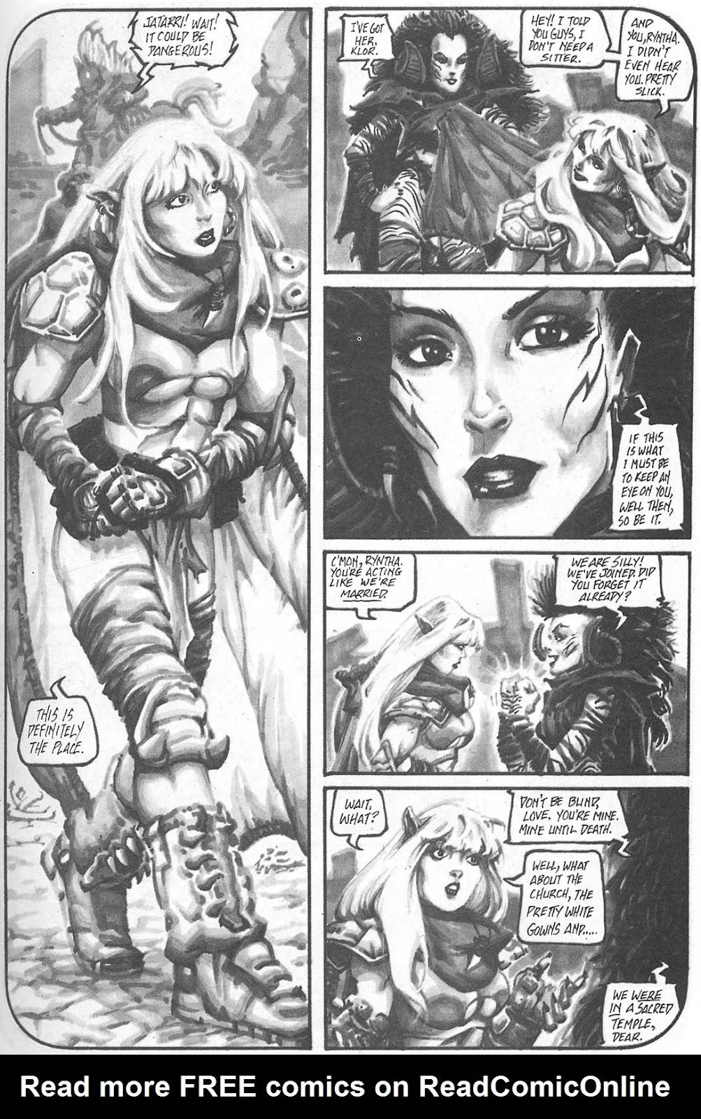 Read online Animal Mystic comic -  Issue #4 - 39