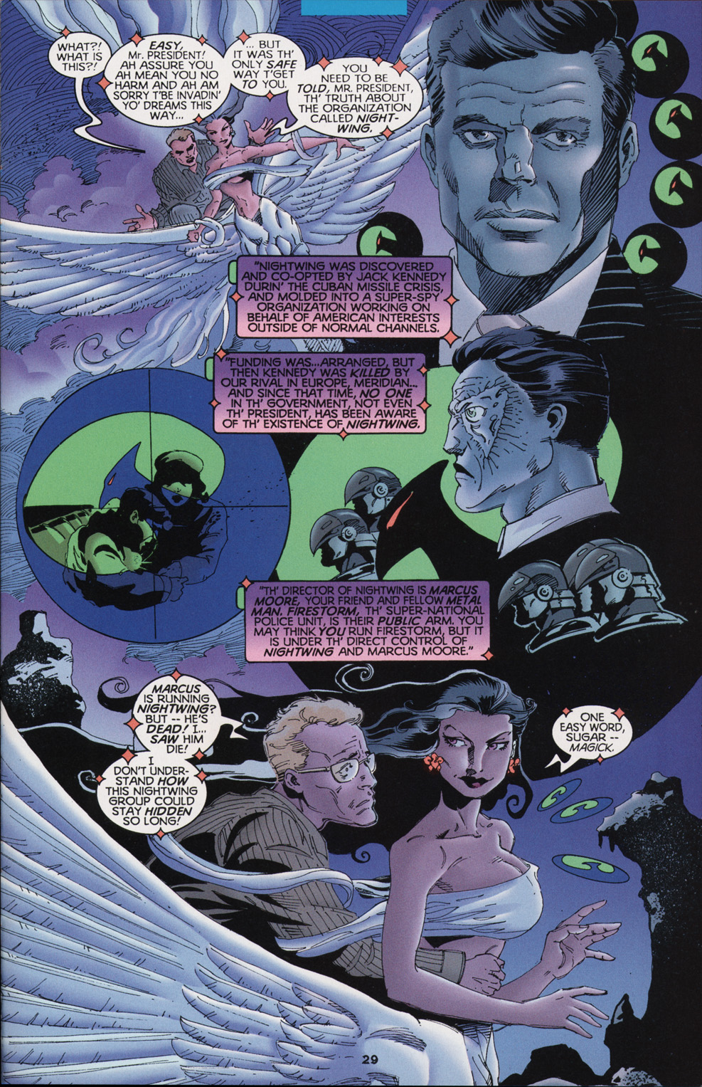 Read online Tangent Comics/ Nightwing comic -  Issue # Full - 29