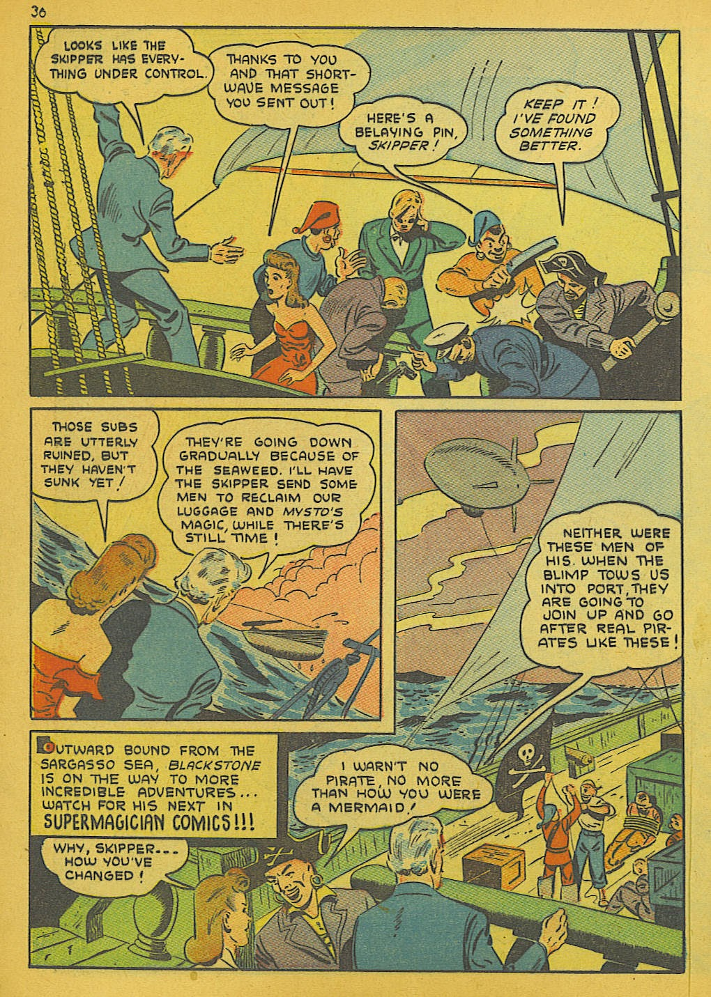 Read online Super-Magician Comics comic -  Issue #10 - 36