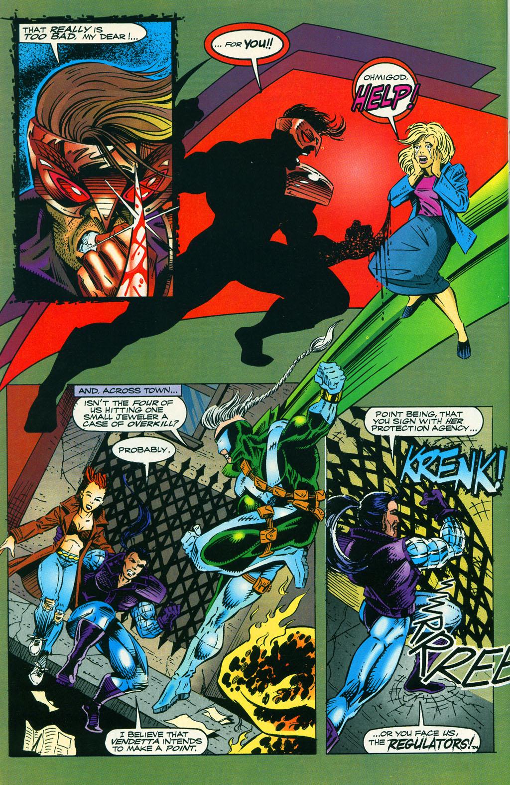 Read online ShadowHawk comic -  Issue #5 - 16