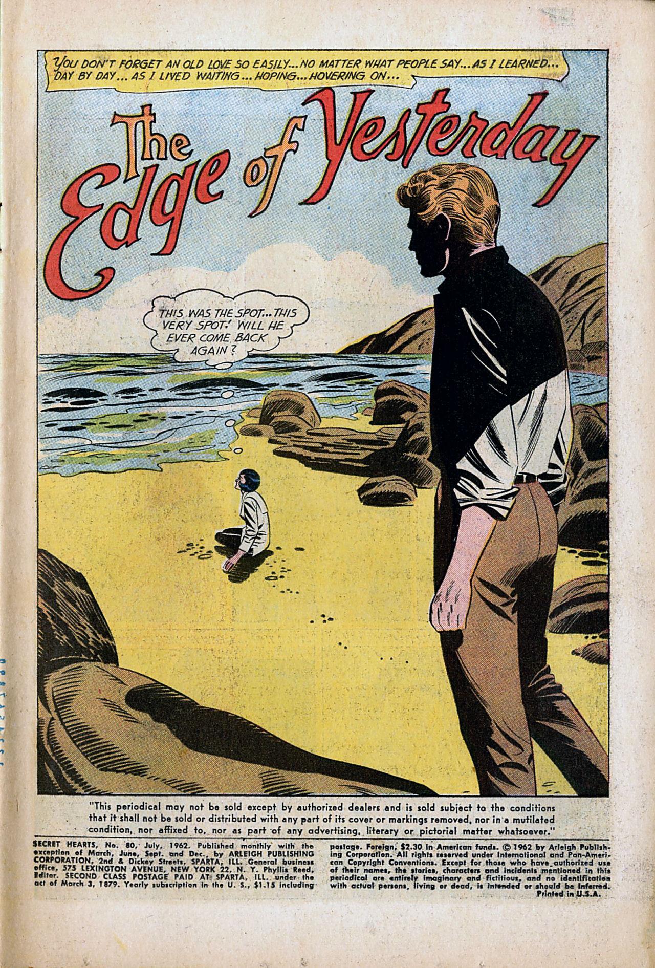 Read online Secret Hearts comic -  Issue #80 - 3