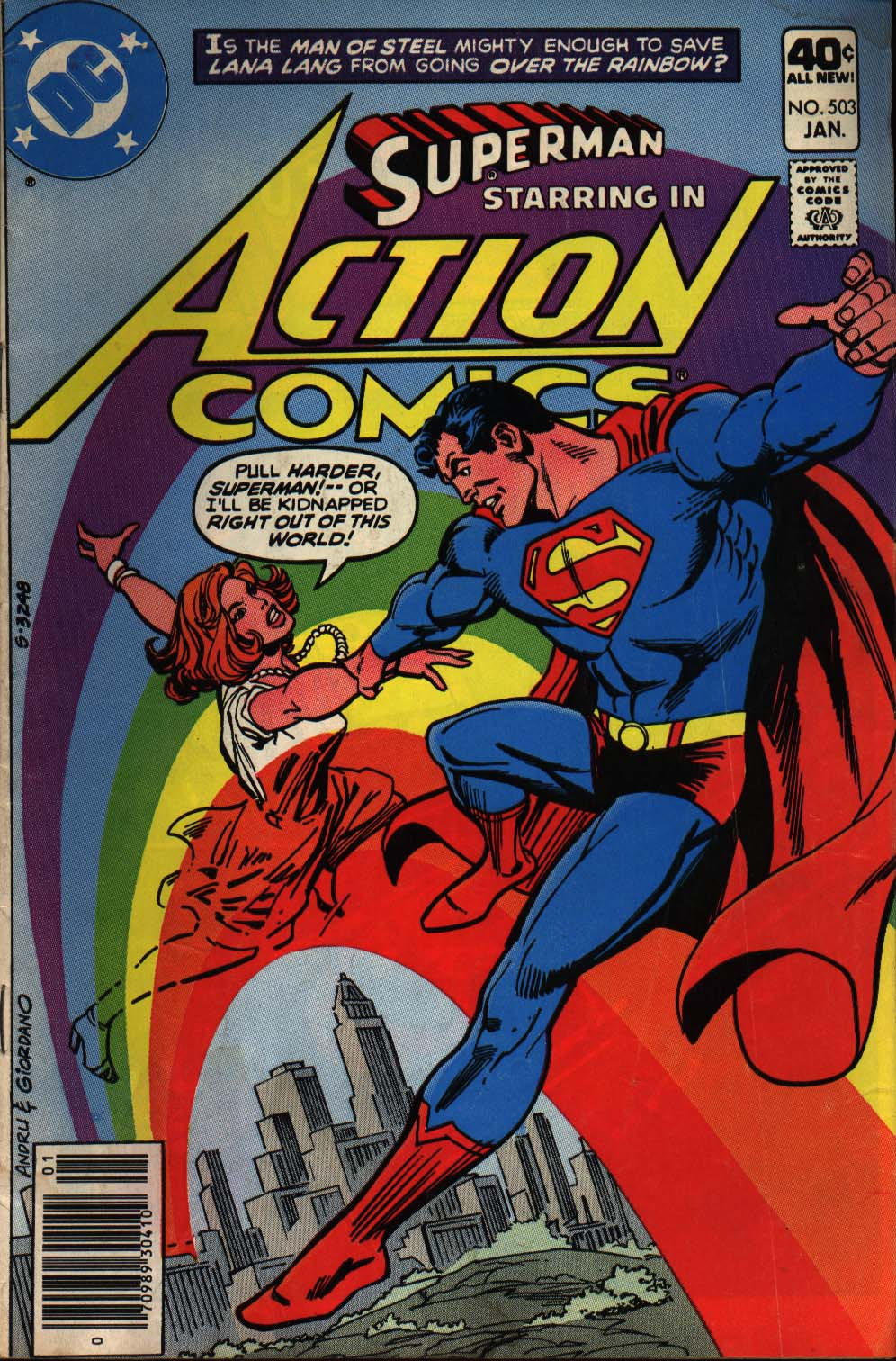 Read online Action Comics (1938) comic -  Issue #503 - 1