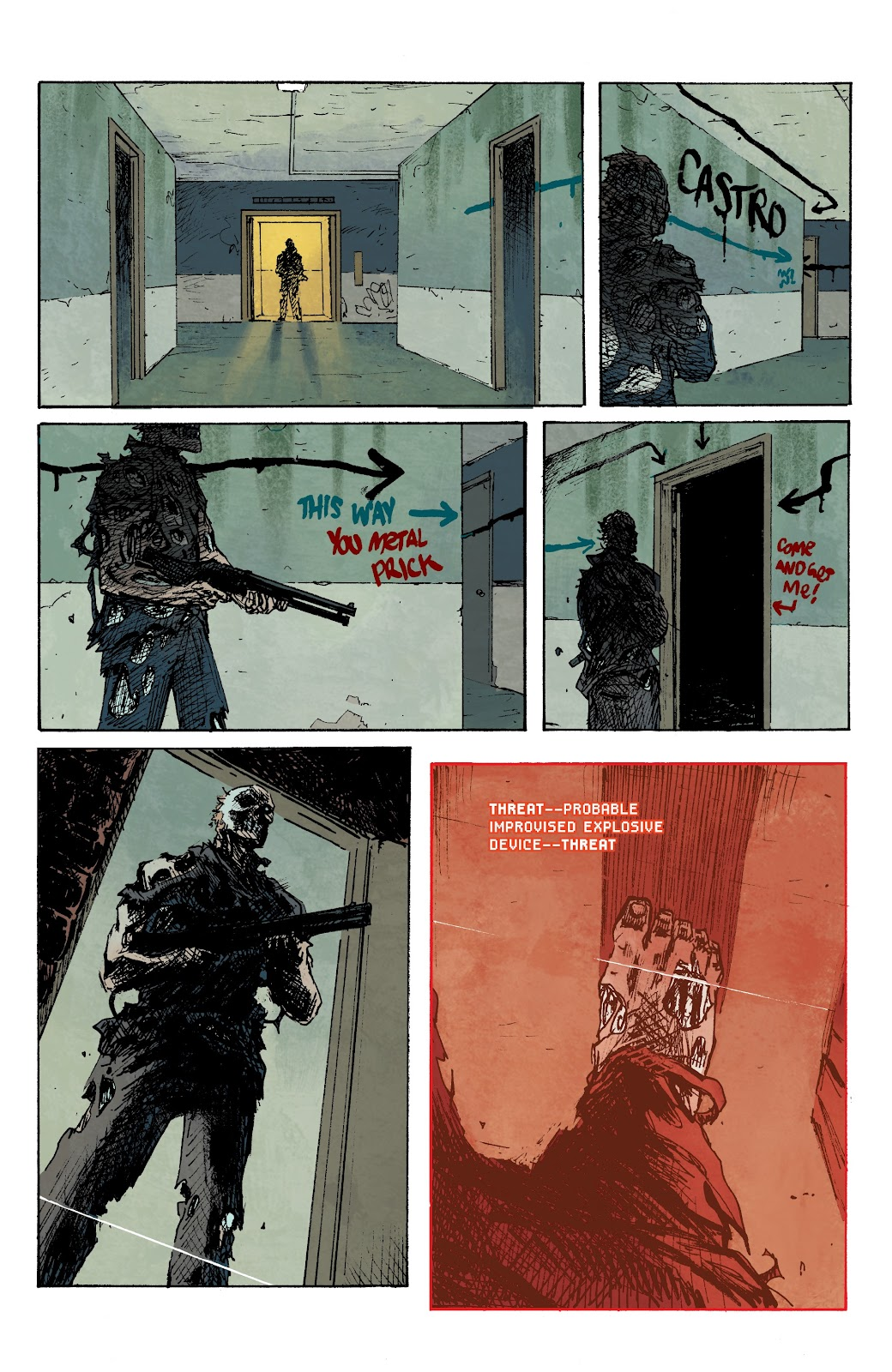 Read online The Terminator: Sector War comic -  Issue #3 - 13