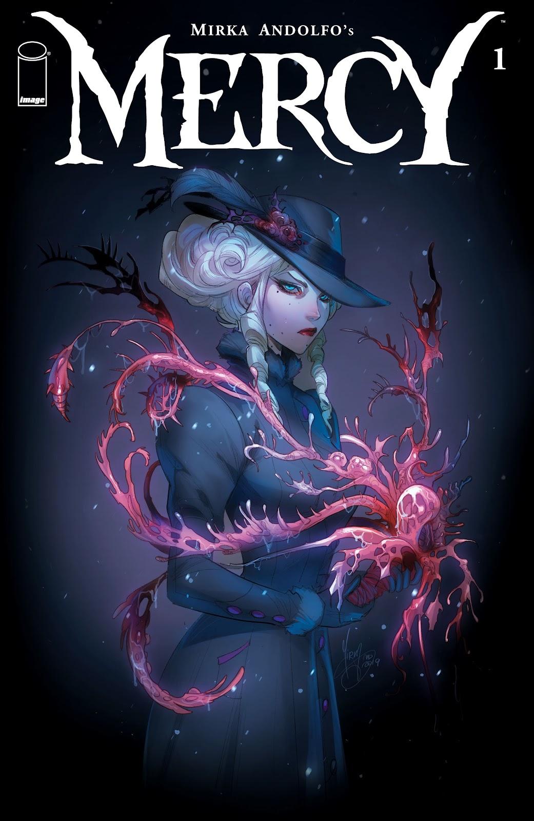 Read online Mirka Andolfo's Mercy comic -  Issue #1 - 1