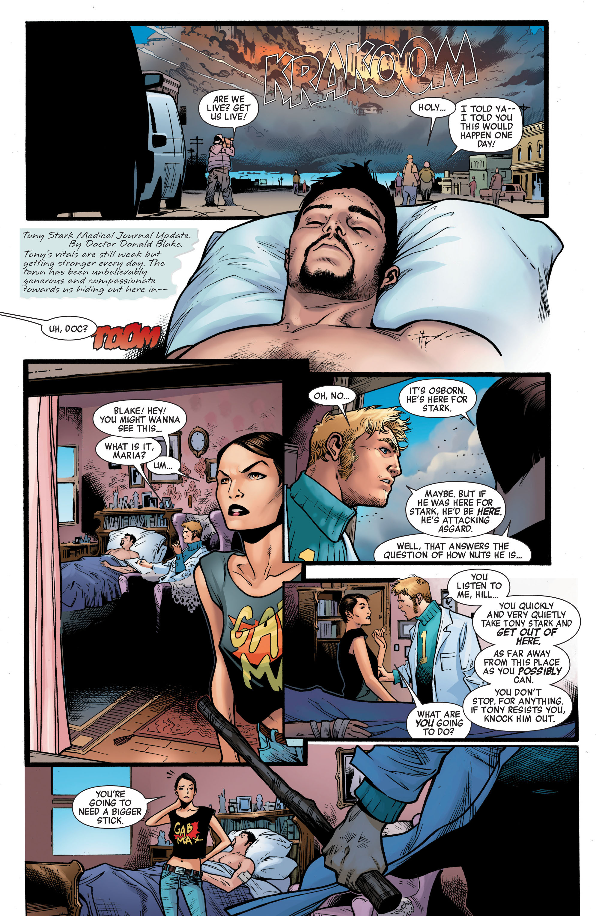 Read online Siege (2010) comic -  Issue #1 - 19