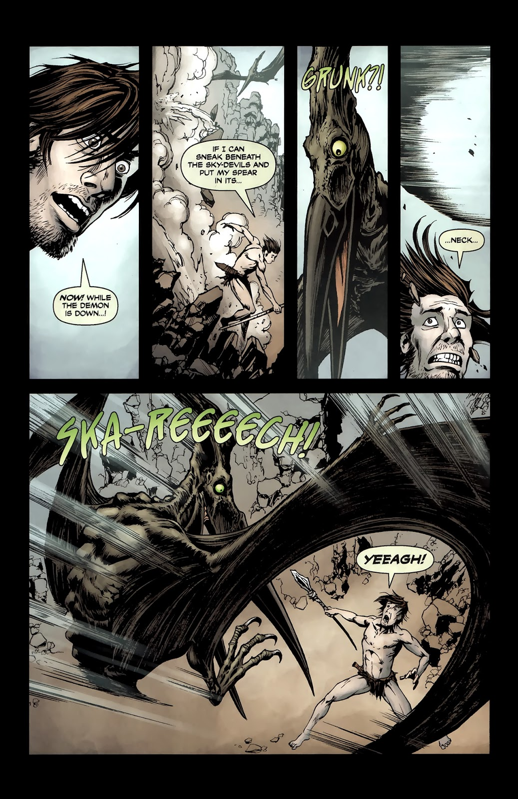 Read online Tyrannosaurus Rex comic -  Issue # Full - 12