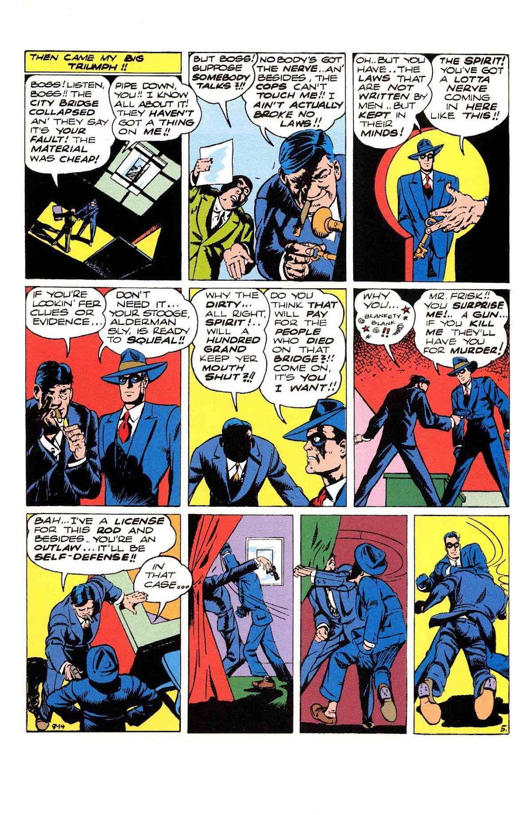 Read online Will Eisner's The Spirit Archives comic -  Issue # TPB 3 (Part 1) - 86