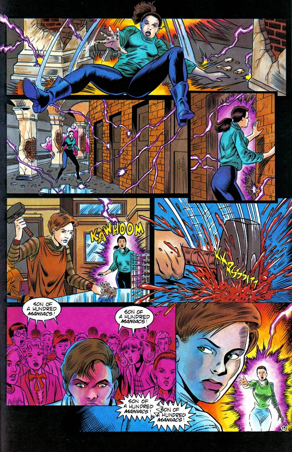 Read online Freddy's Dead: The Final Nightmare comic -  Issue #3 - 16