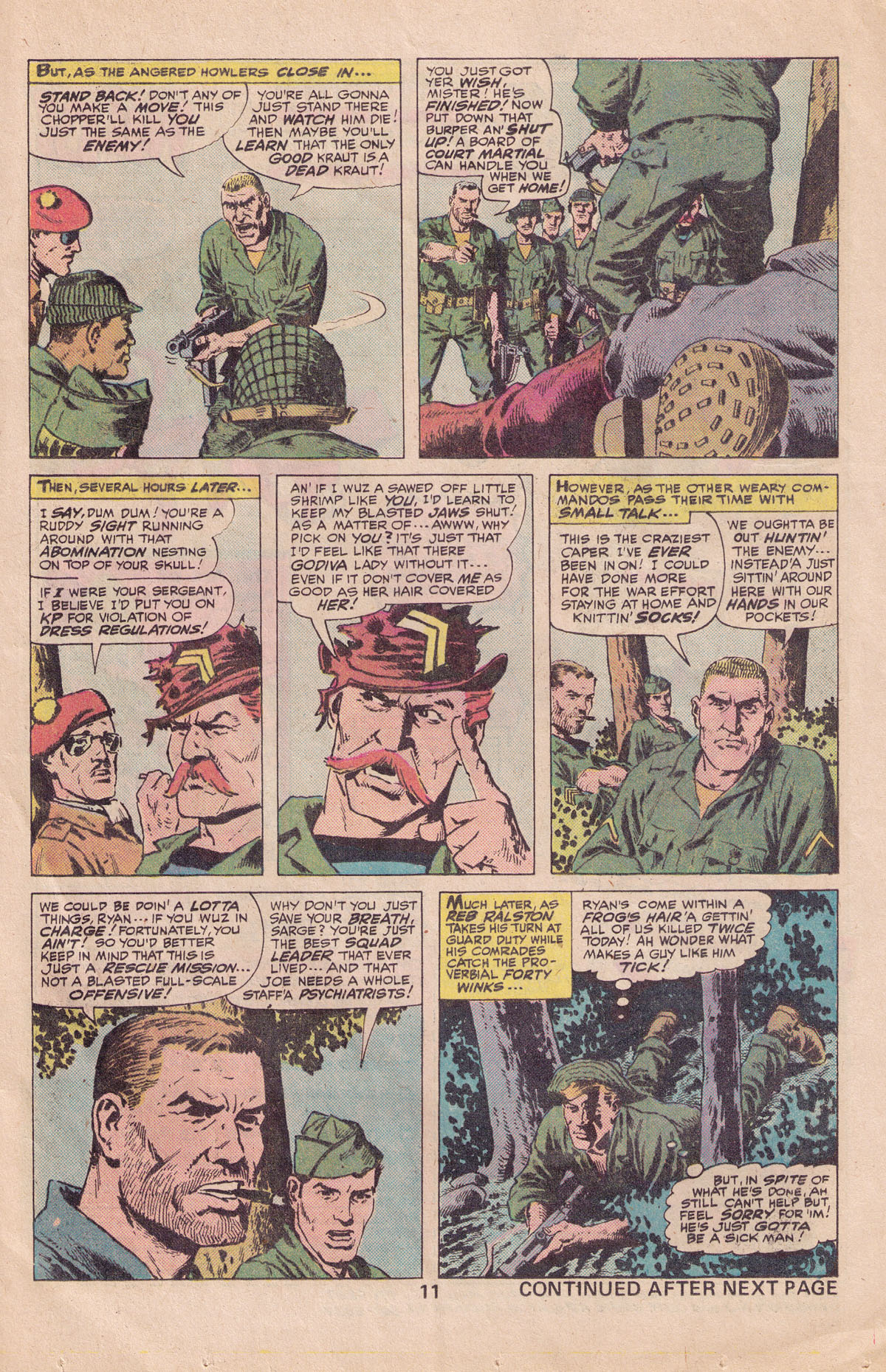 Read online Sgt. Fury comic -  Issue #140 - 13