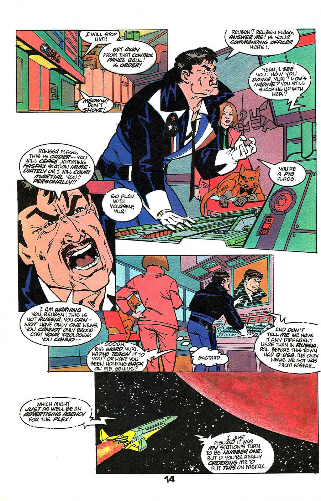 Read online American Flagg! comic -  Issue #49 - 18