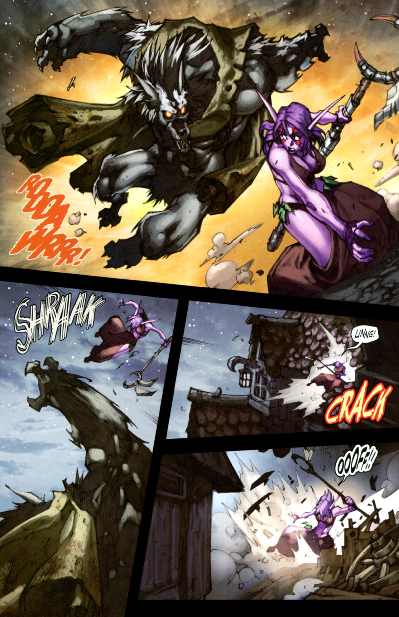 Read online World of Warcraft: Curse of the Worgen comic -  Issue #4 - 8