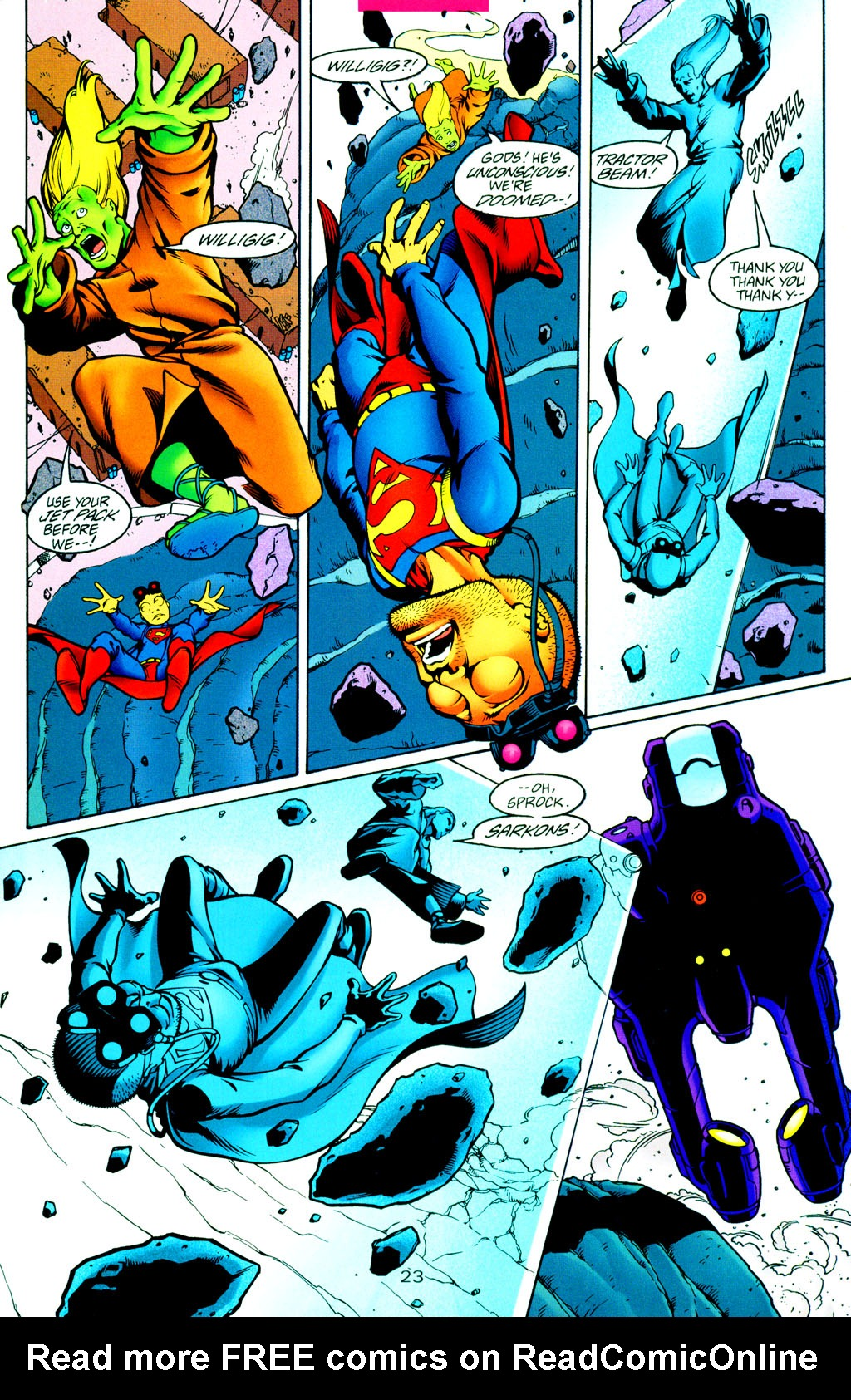 Read online Adventures of Superman (1987) comic -  Issue #Adventures of Superman (1987) _Annual 8 - 25