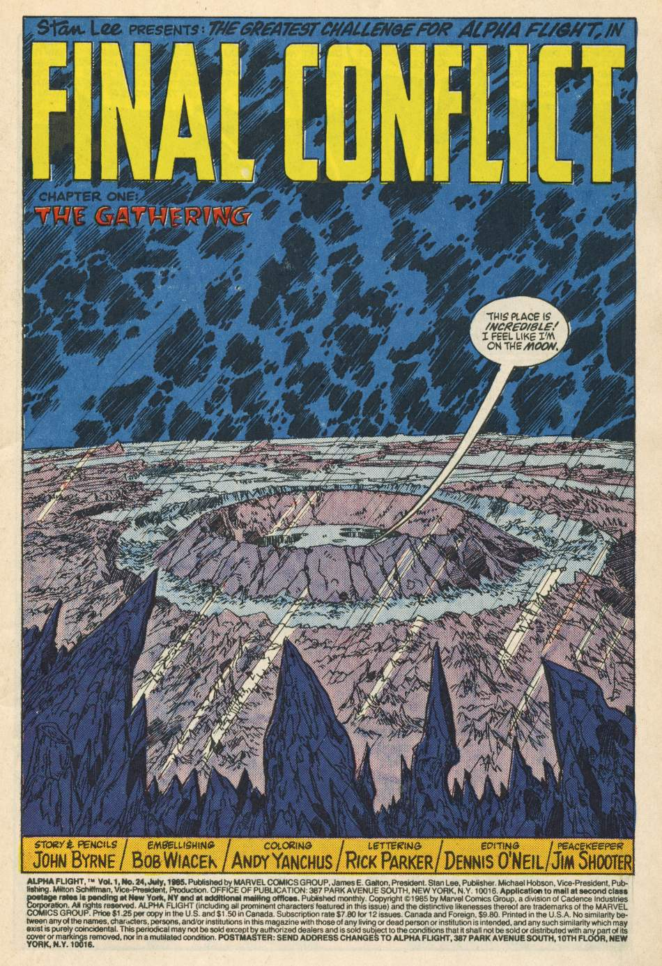 Read online Alpha Flight (1983) comic -  Issue #24 - 2