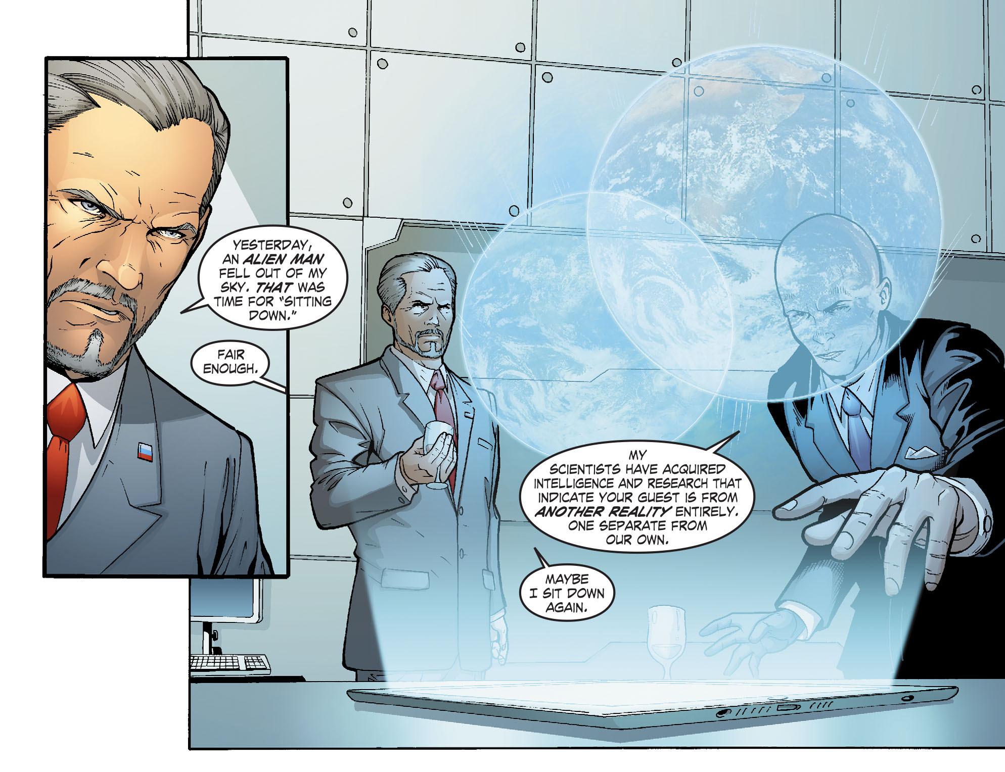 Read online Smallville: Alien comic -  Issue #5 - 5