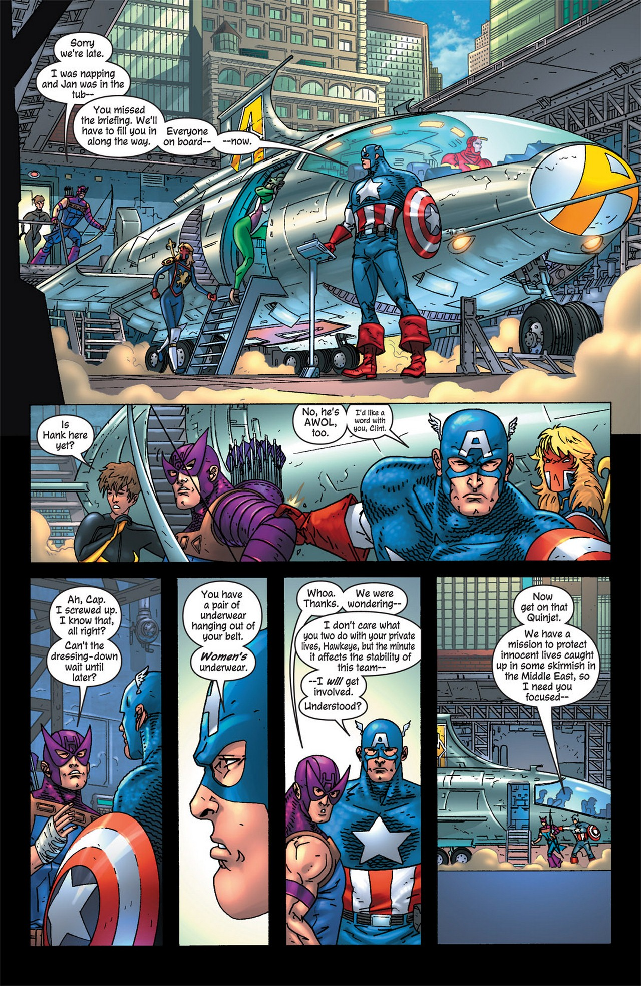 Read online Avengers (1998) comic -  Issue #84 - 4