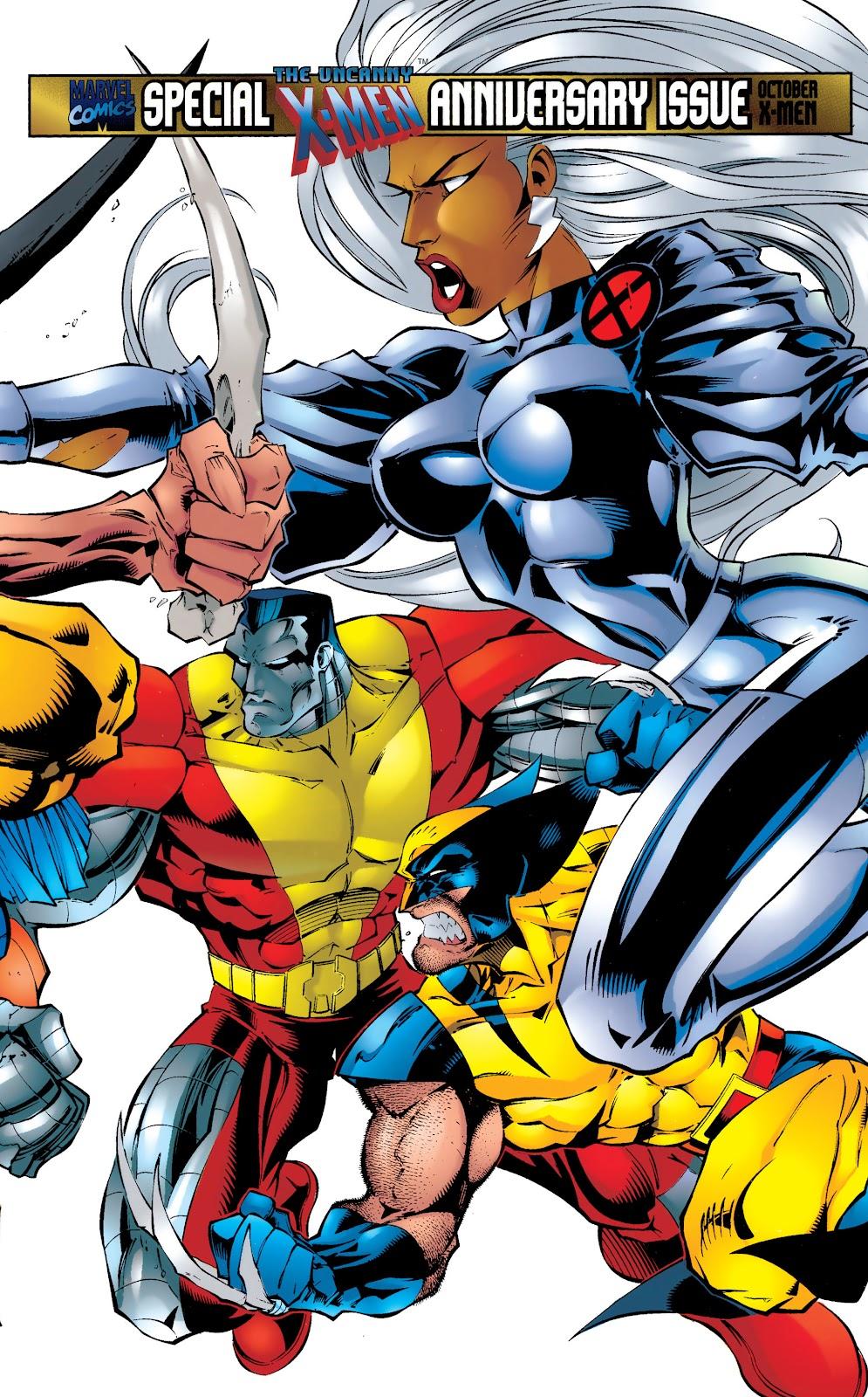 Uncanny X-Men (1963) issue 325 - Page 1