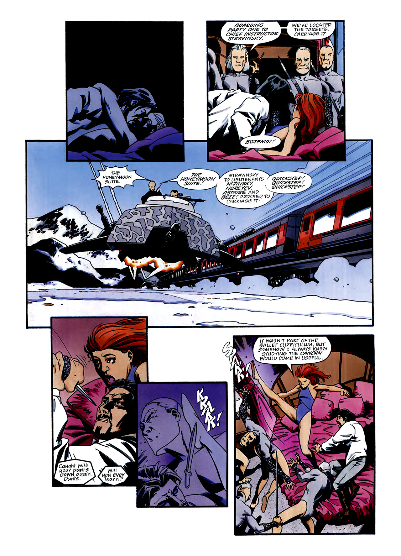 Read online Nikolai Dante comic -  Issue # TPB 3 - 30