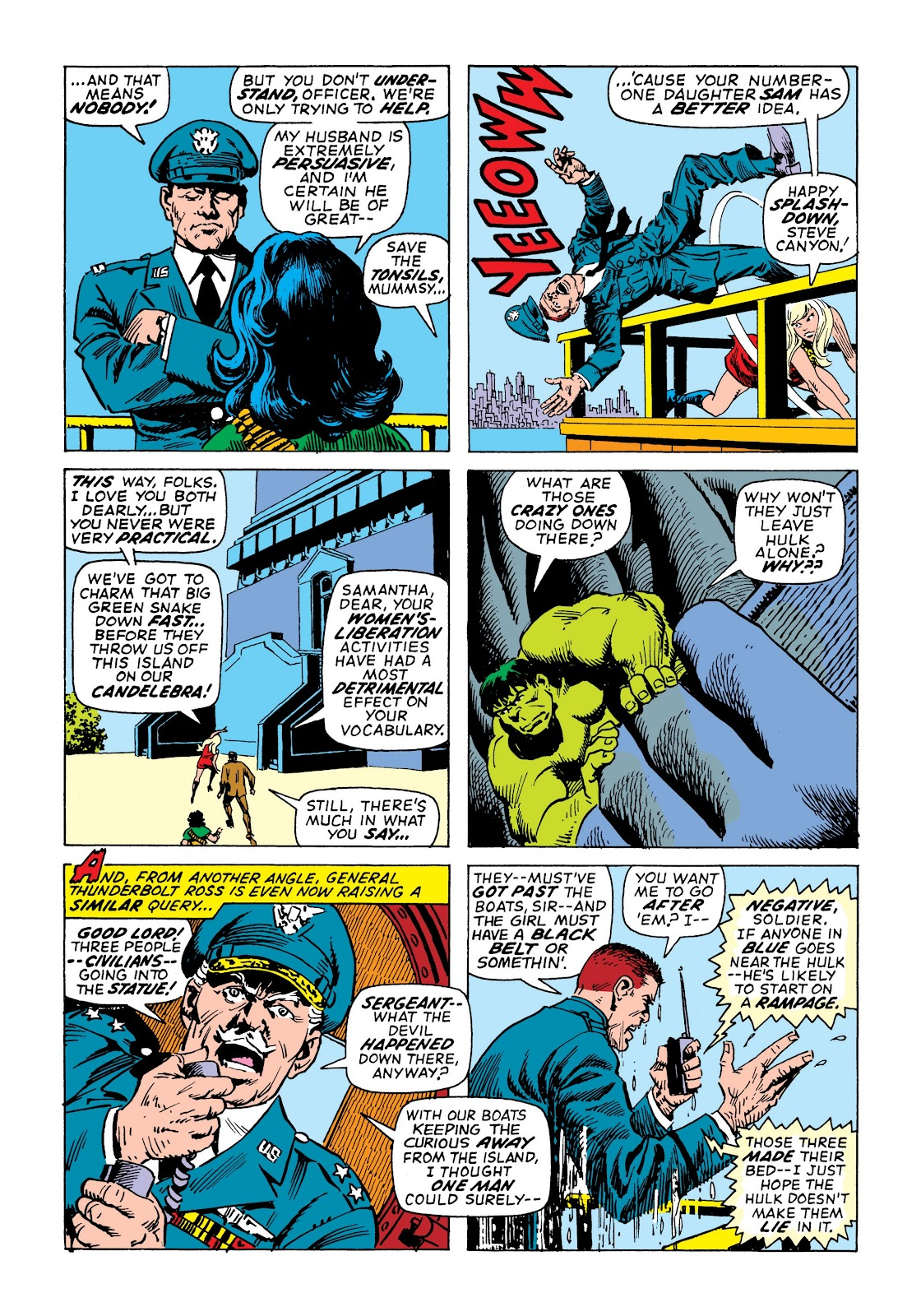 Read online Marvel Masterworks: The Incredible Hulk comic -  Issue # TPB 7 (Part 2) - 72