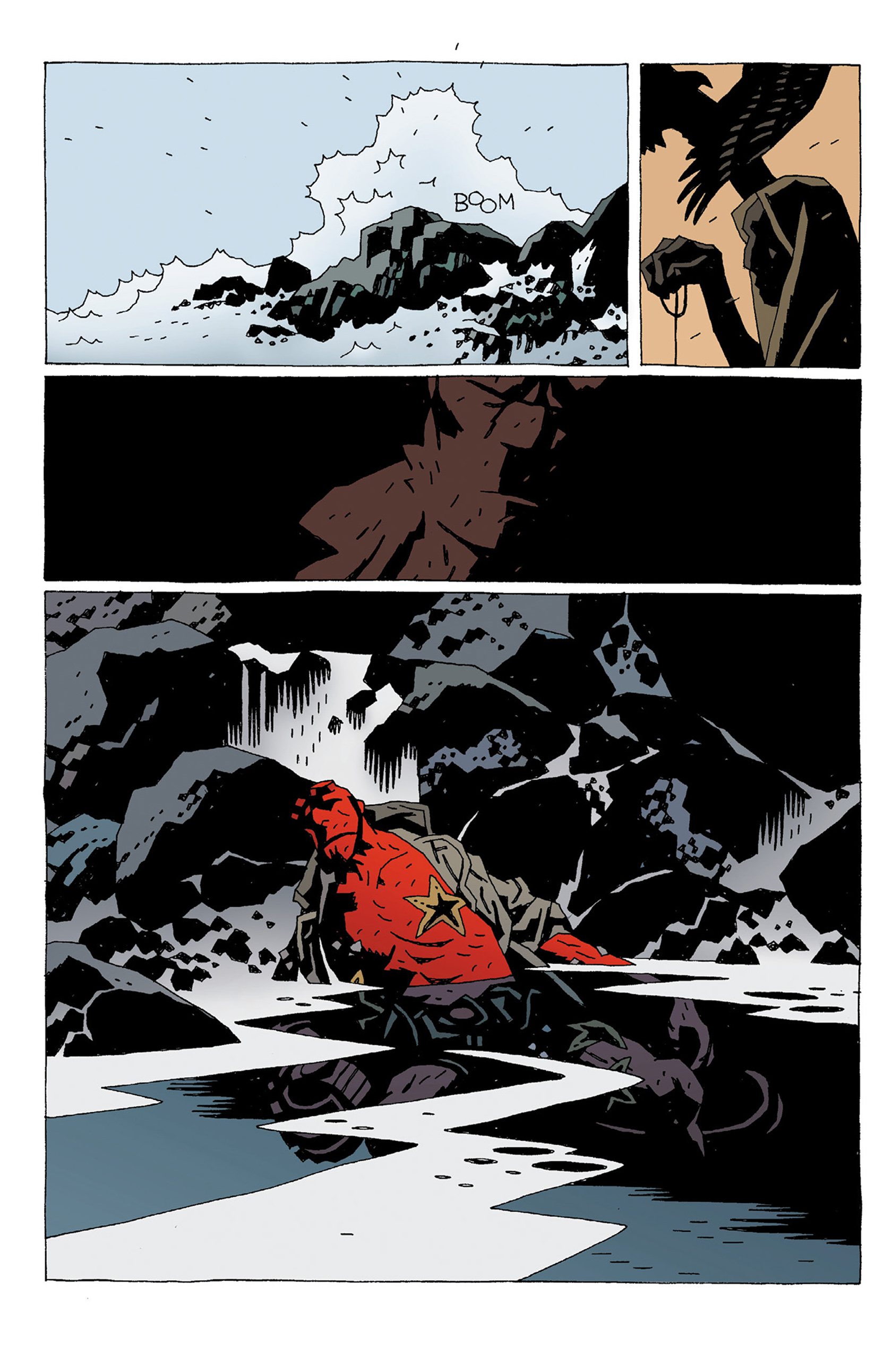 Read online Hellboy: Strange Places comic -  Issue # TPB - 136