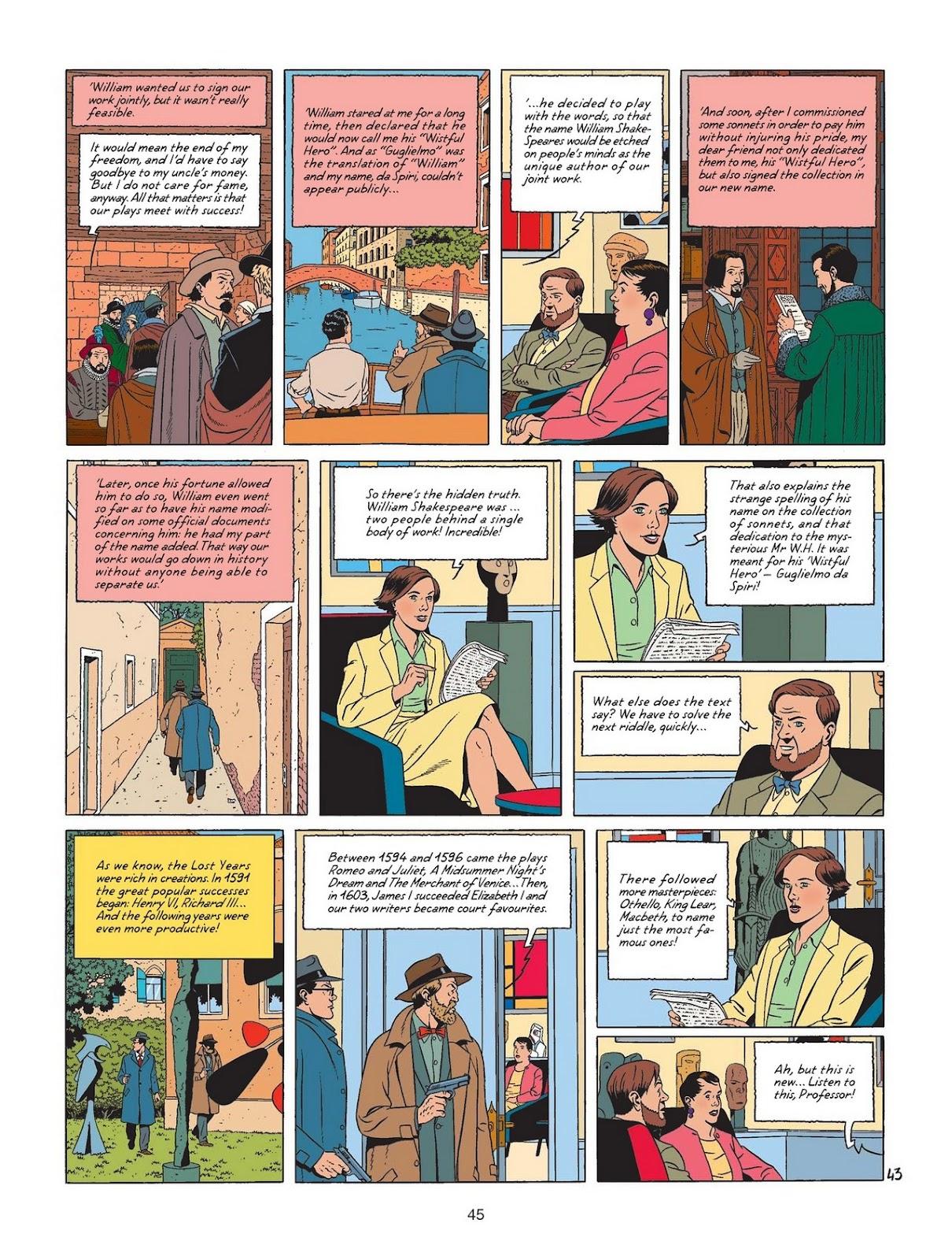 Comic Blake & Mortimer issue 24