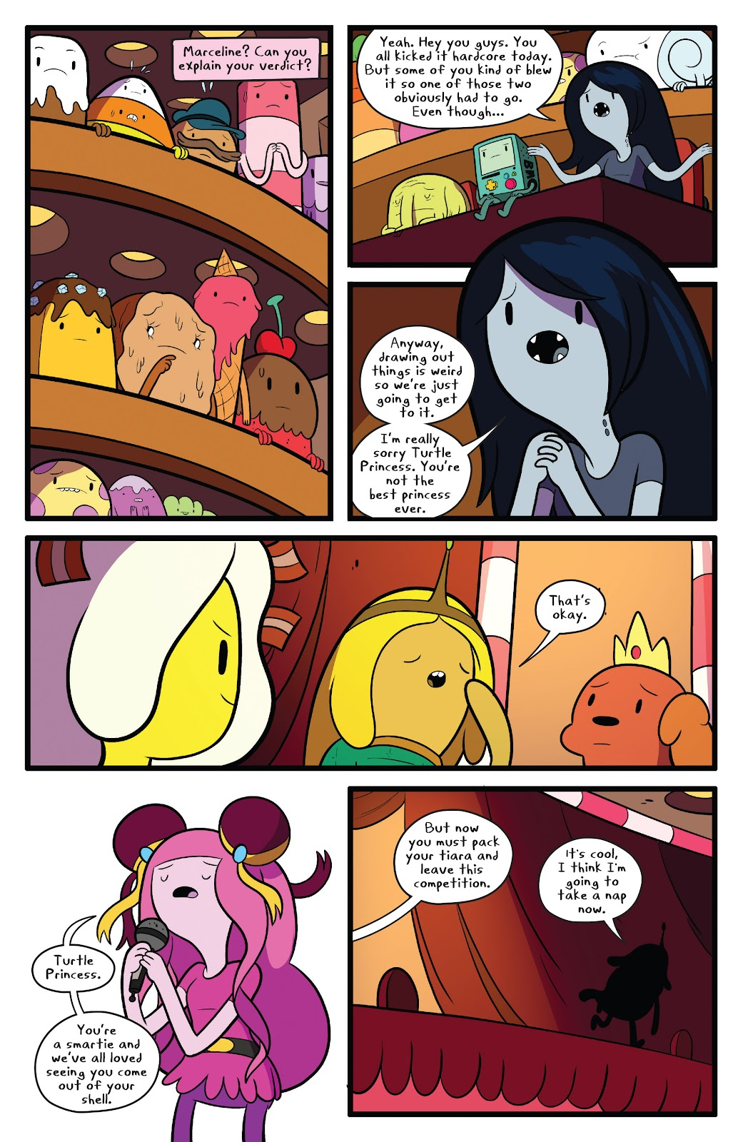 Read online Adventure Time comic -  Issue #63 - 22