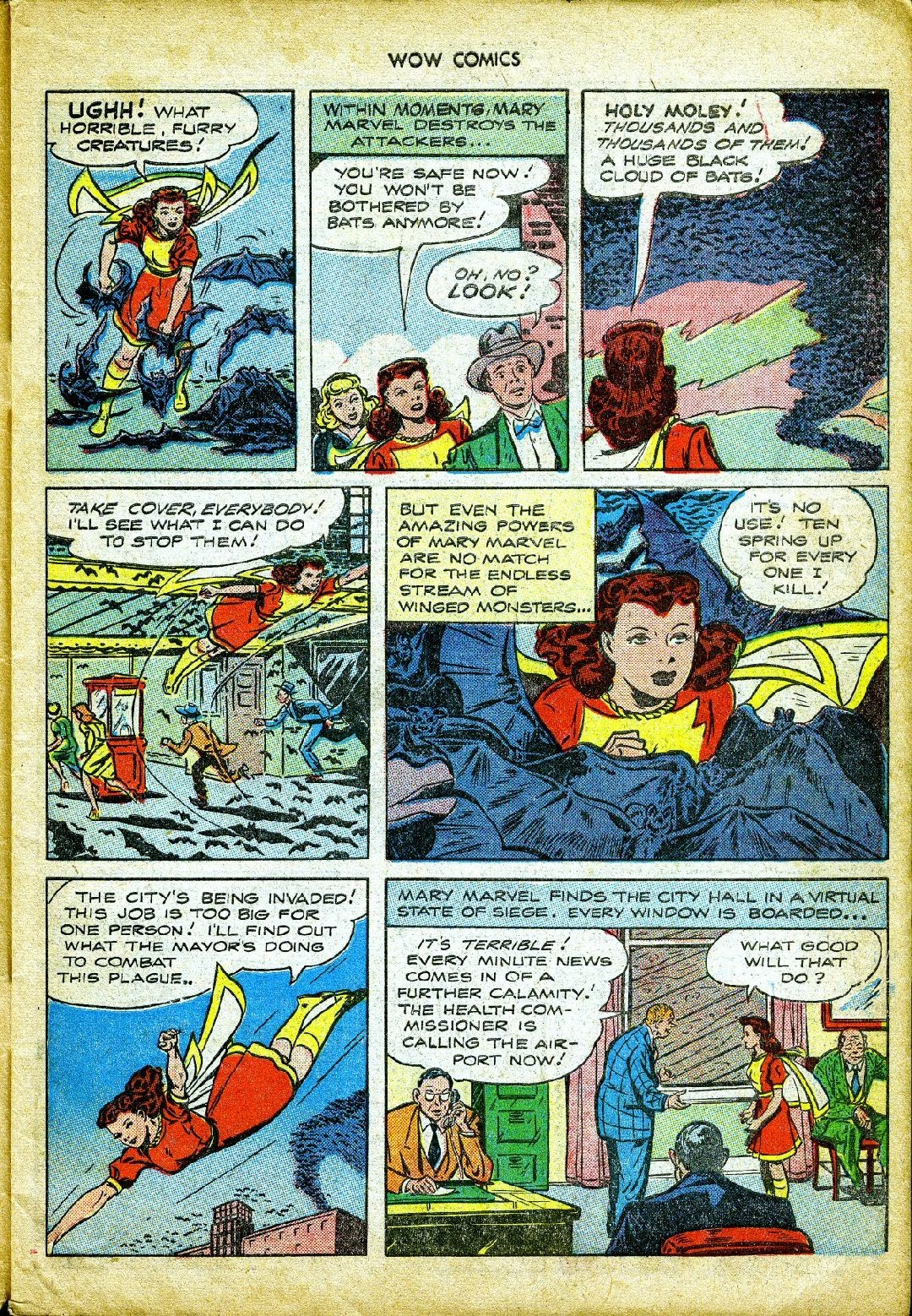 Wow Comics issue 57 - Page 7