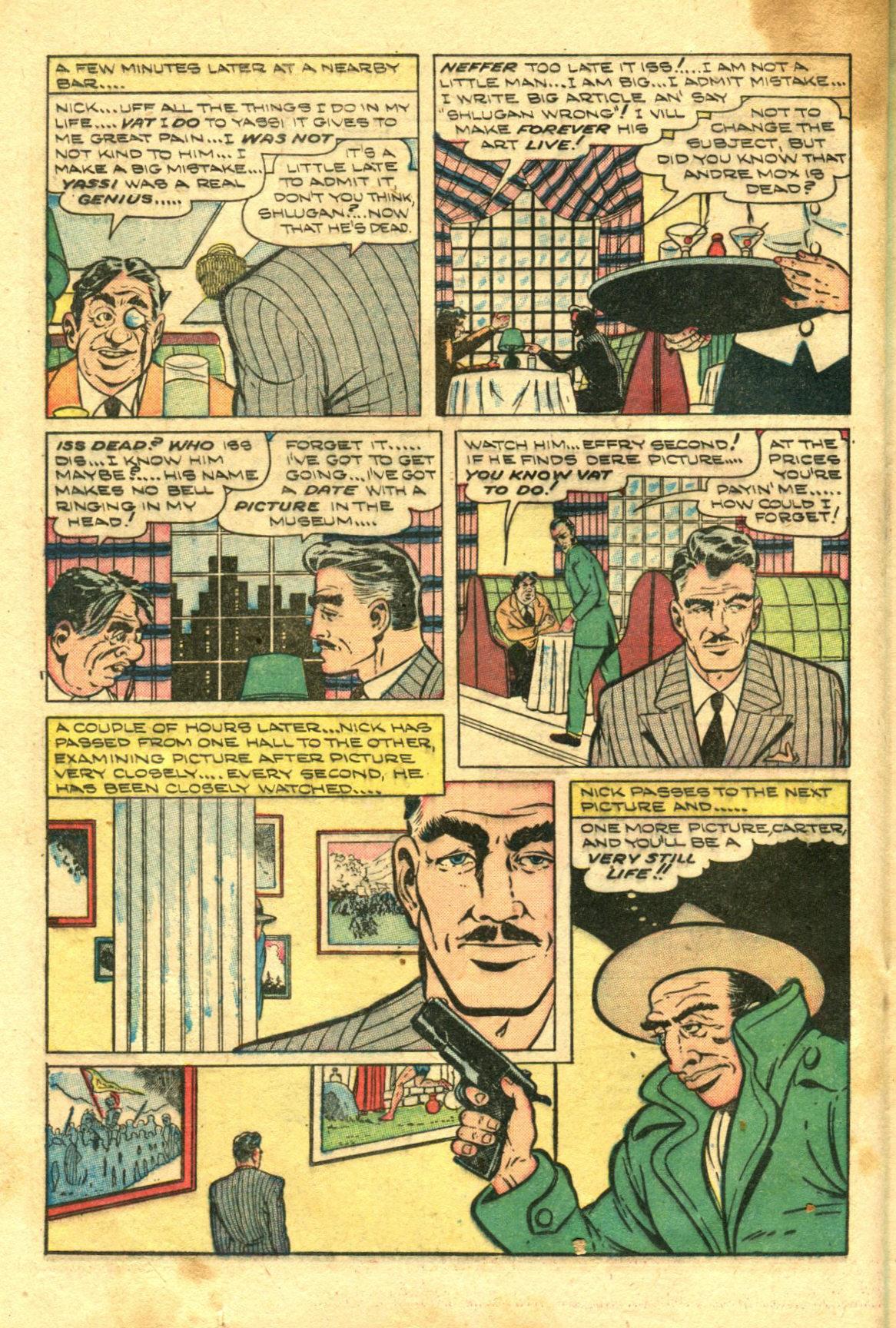 Read online Shadow Comics comic -  Issue #98 - 32